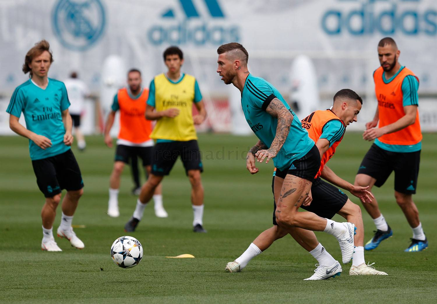 Real Madrid - Entrenamiento del Real Madrid - 24-05-2018