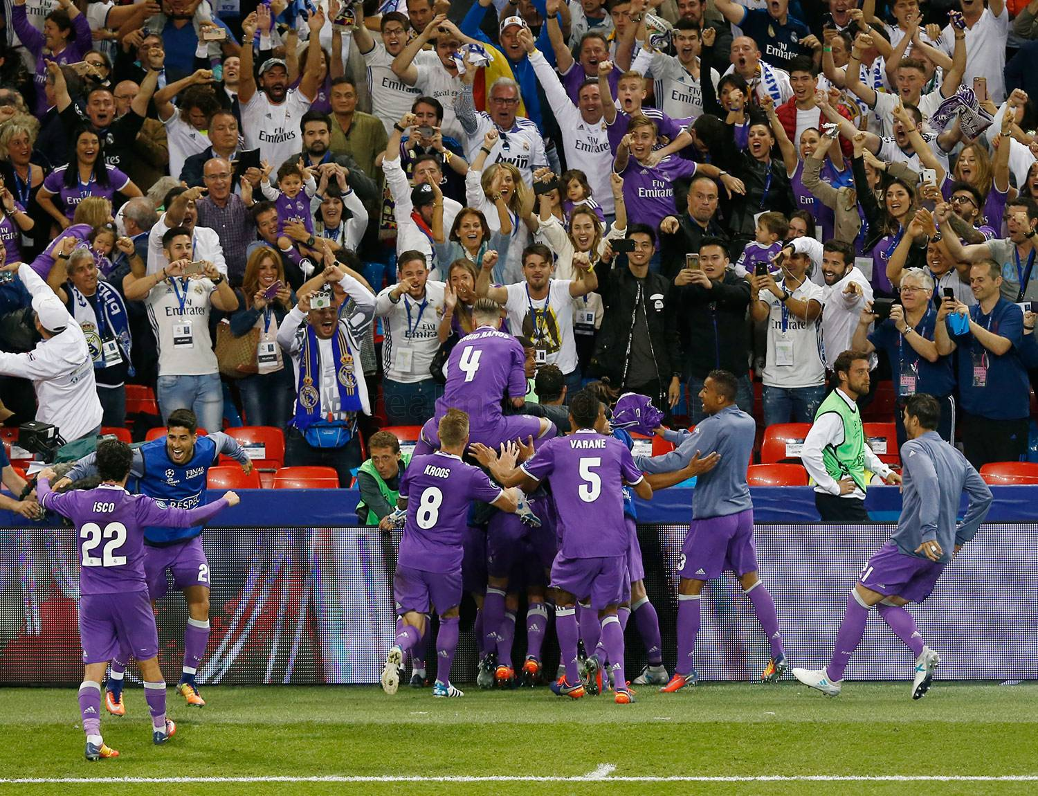 Real Madrid - Juventus - Real Madrid - 03-06-2017