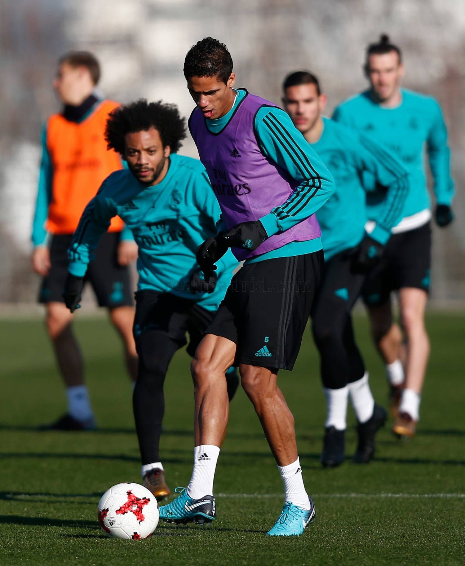 Real Madrid - Entrenamiento del Real Madrid - 16-01-2018