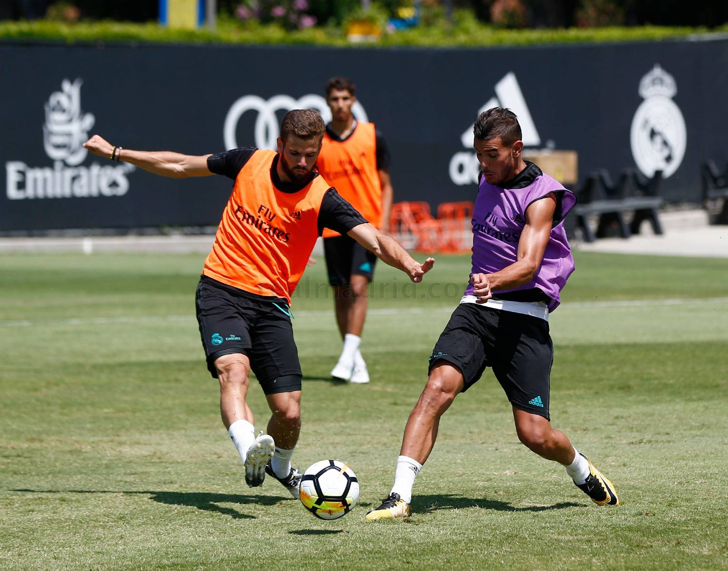 Real Madrid - Entrenamiento del Real Madrid en UCLA - 19-07-2017