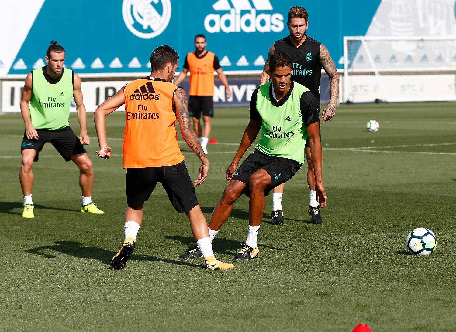 Real Madrid - Entrenamiento del Real Madrid - 25-08-2017