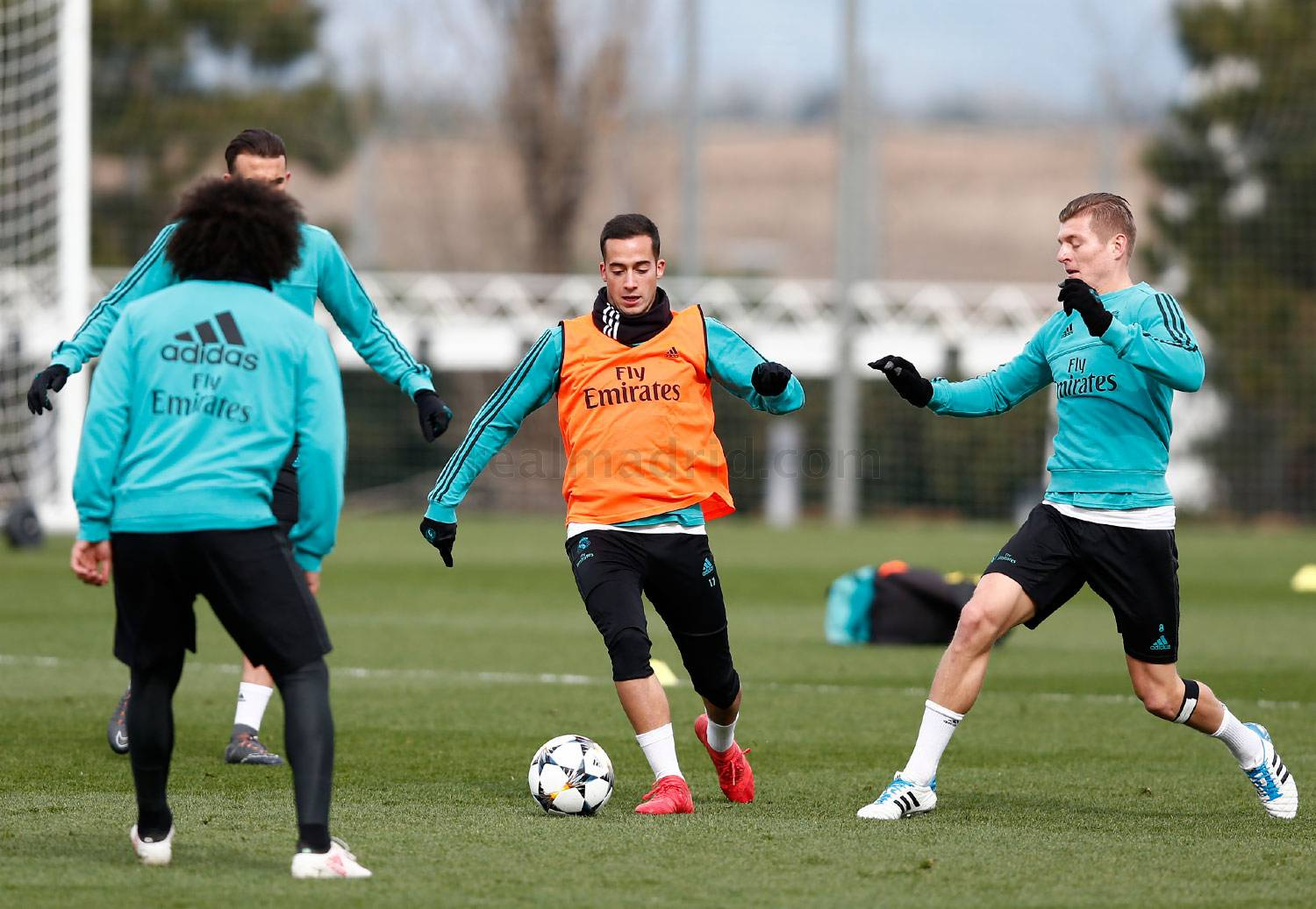 Real Madrid - Entrenamiento del Real Madrid - 04-03-2018