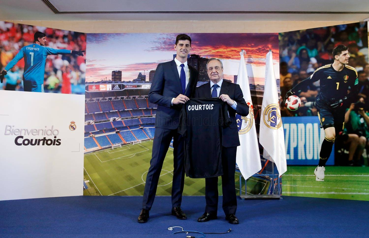 ¿Cuánto mide Thibaut Courtois? - Altura - Real height _1rm9916-3