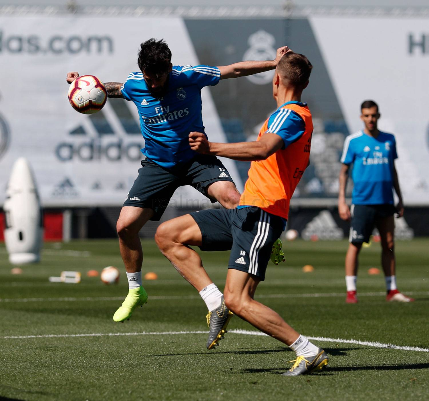 Real Madrid - Entrenamiento del Real Madrid - 27-03-2019