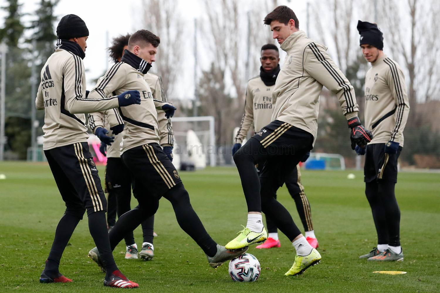 Real Madrid - Entrenamiento del Real Madrid  - 21-01-2020
