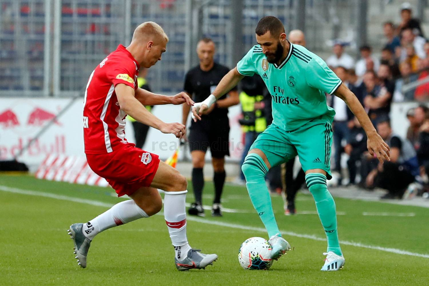 Real Madrid - Red Bull Salzburgo - Real Madrid - 07-08-2019