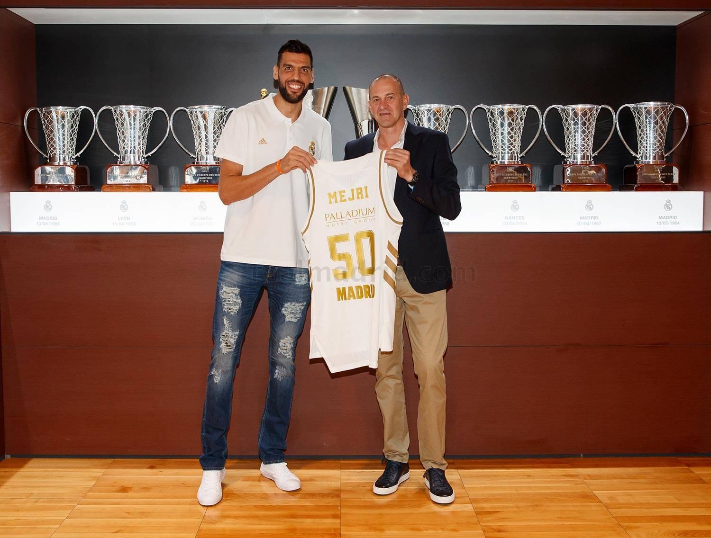 Real Madrid - Salah Mejri, nuevo jugador del Real Madrid de Baloncesto - 10-10-2019