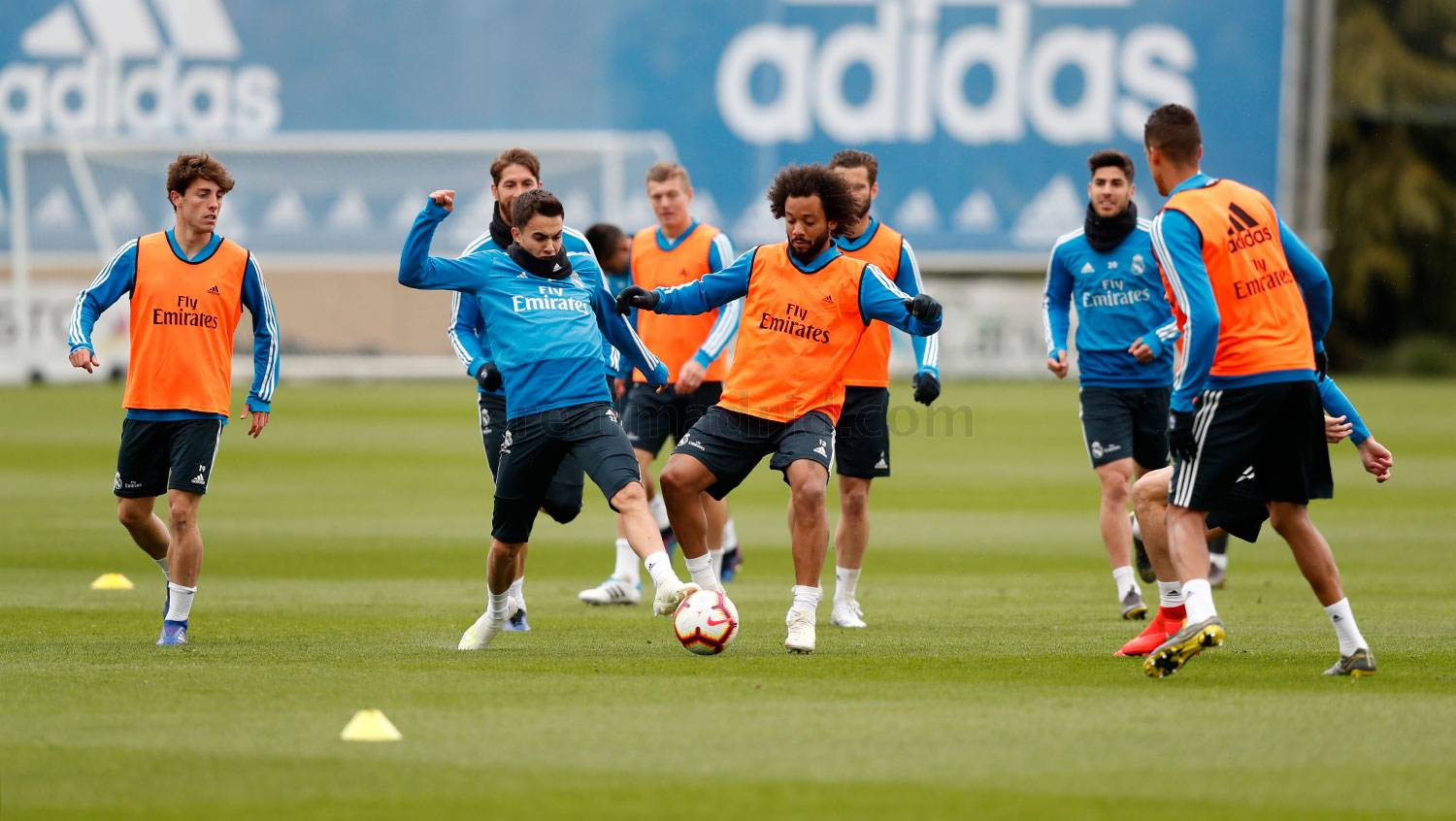 Real Madrid - Entrenamiento del Real Madrid - 05-04-2019