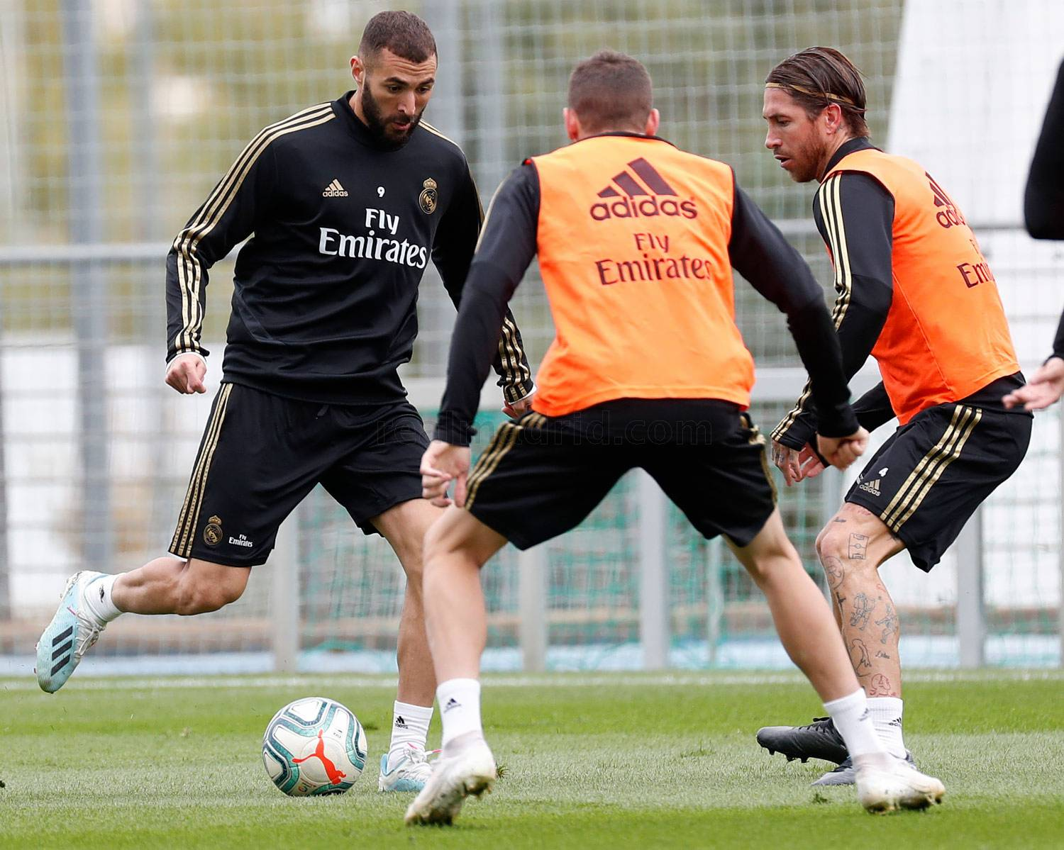 Real Madrid - Entrenamiento del Real Madrid  - 18-10-2019
