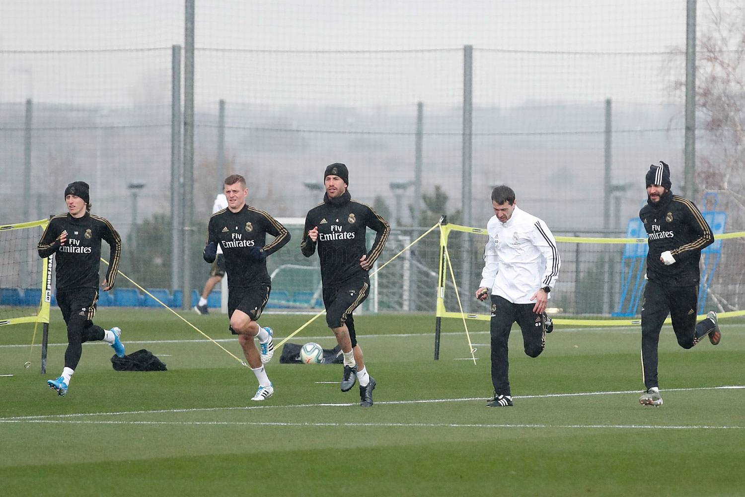 Real Madrid - Entrenamiento del Real Madrid  - 17-12-2019