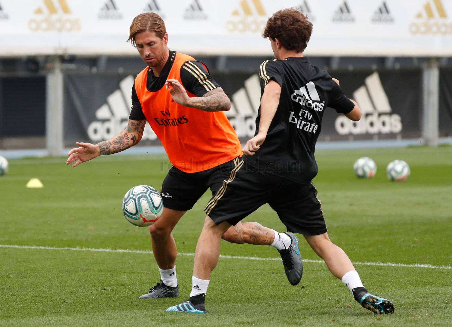 Real Madrid - Entrenamiento del Real Madrid  - 21-08-2019