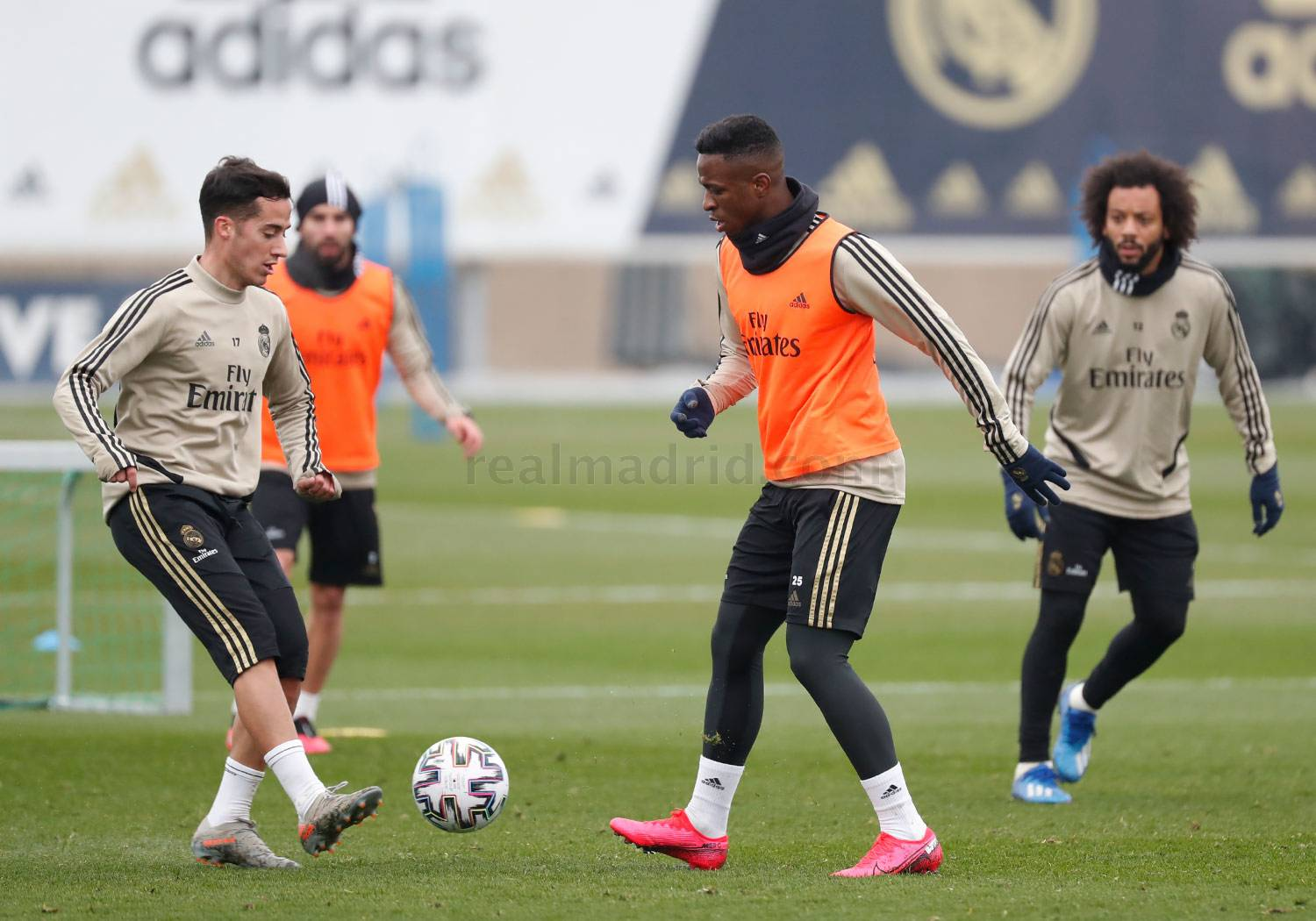 Real Madrid - Entrenamiento del Real Madrid  - 27-01-2020