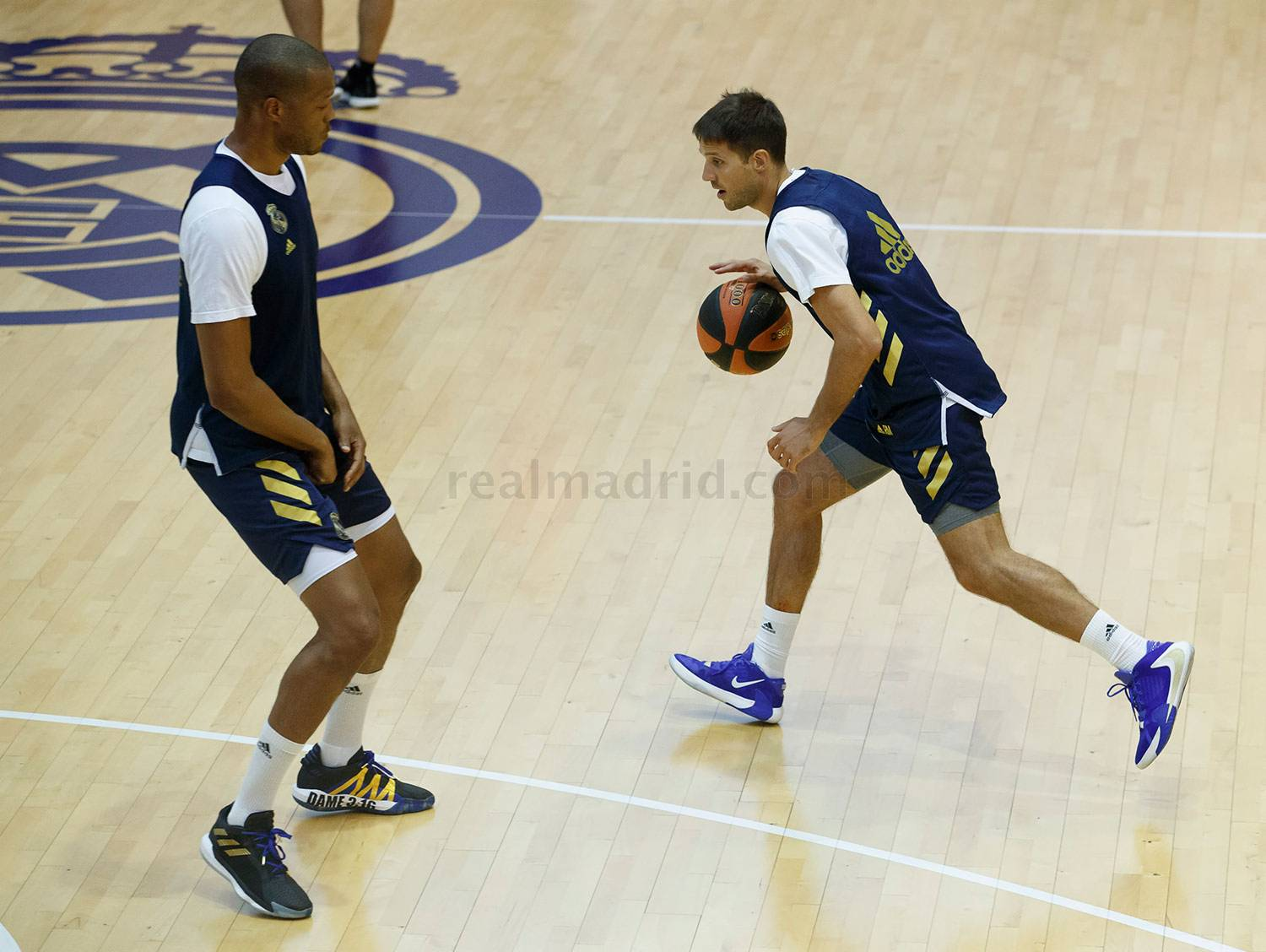 Real Madrid - El Real Madrid de baloncesto inicia la pretemporada - 12-08-2020