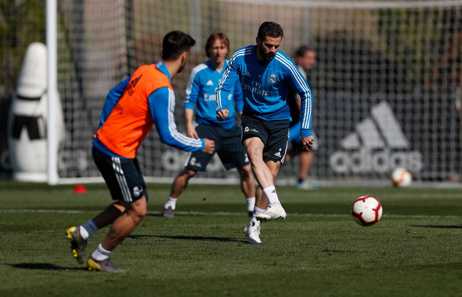 Real Madrid - Entrenamiento del Real Madrid - 12-04-2019
