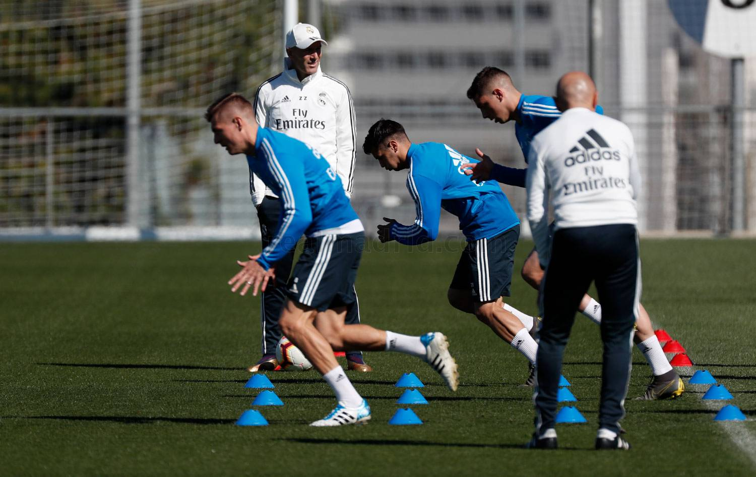 Real Madrid - Entrenamiento del Real Madrid - 15-03-2019