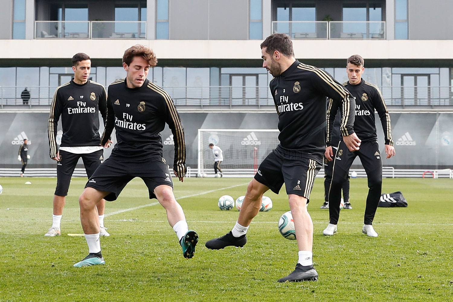 Real Madrid - Entrenamiento del Real Madrid  - 20-11-2019