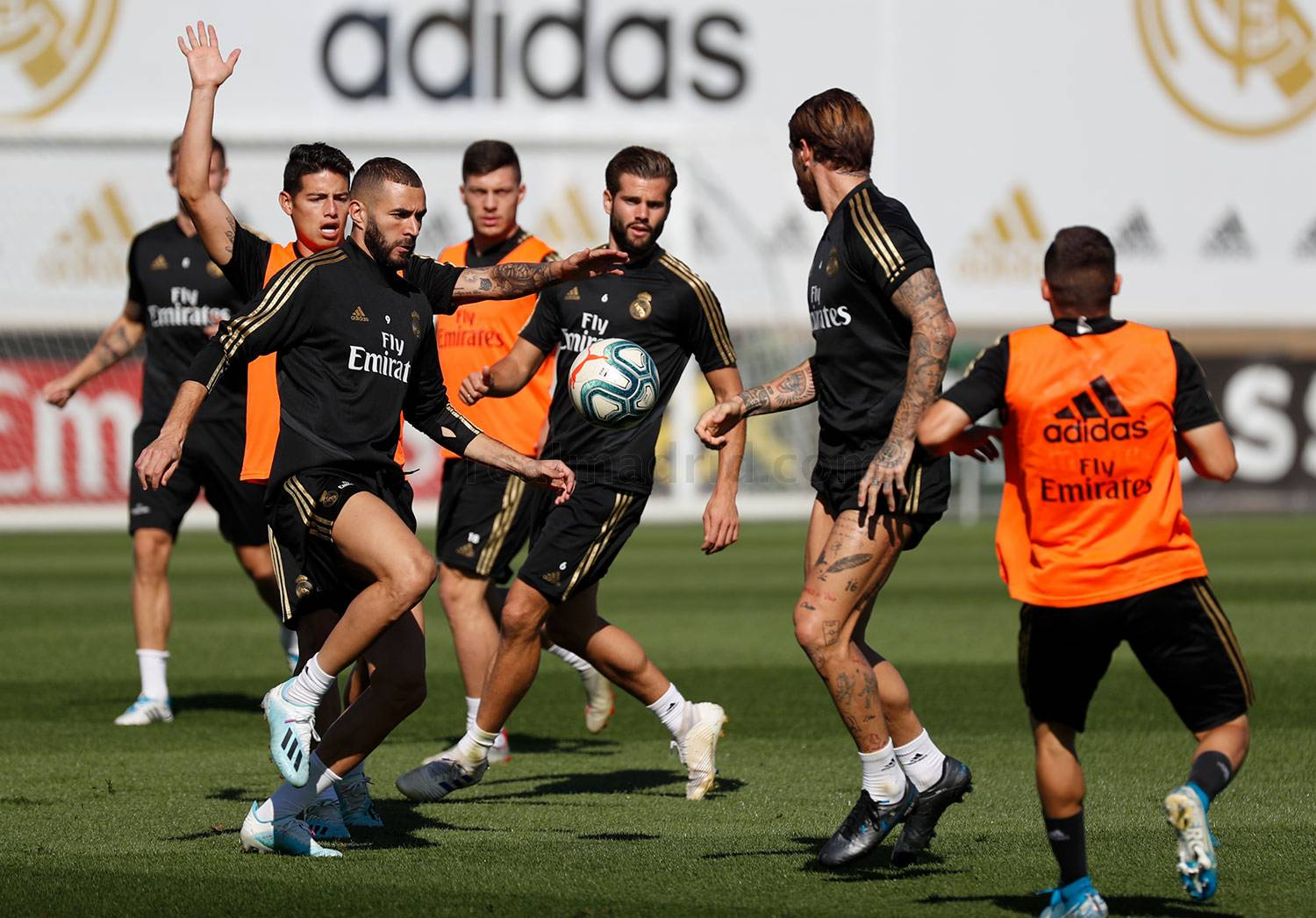 Real Madrid - Entrenamiento del Real Madrid  - 24-09-2019