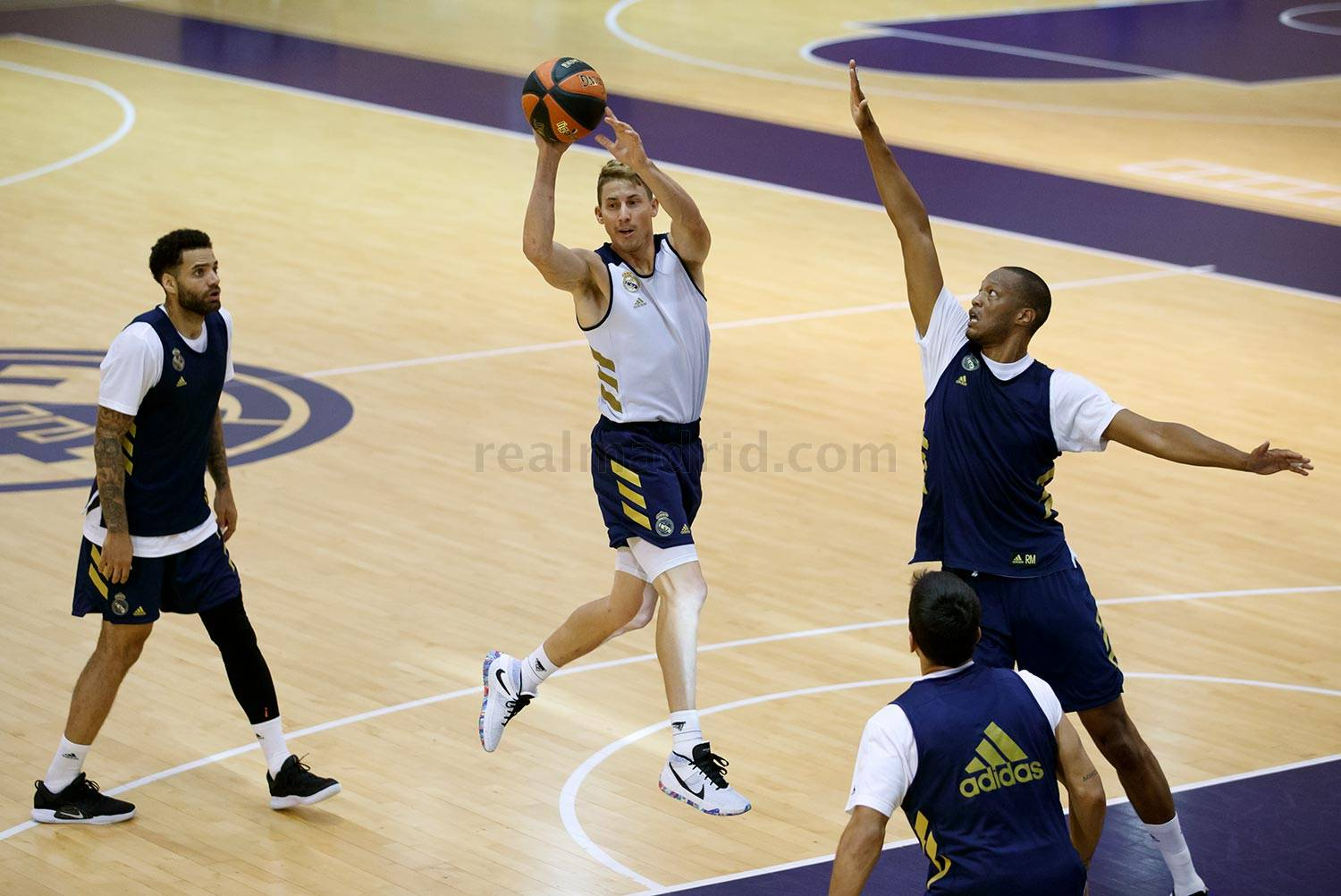 Real Madrid - Entrenamiento del Real Madrid de baloncesto - 20-08-2020