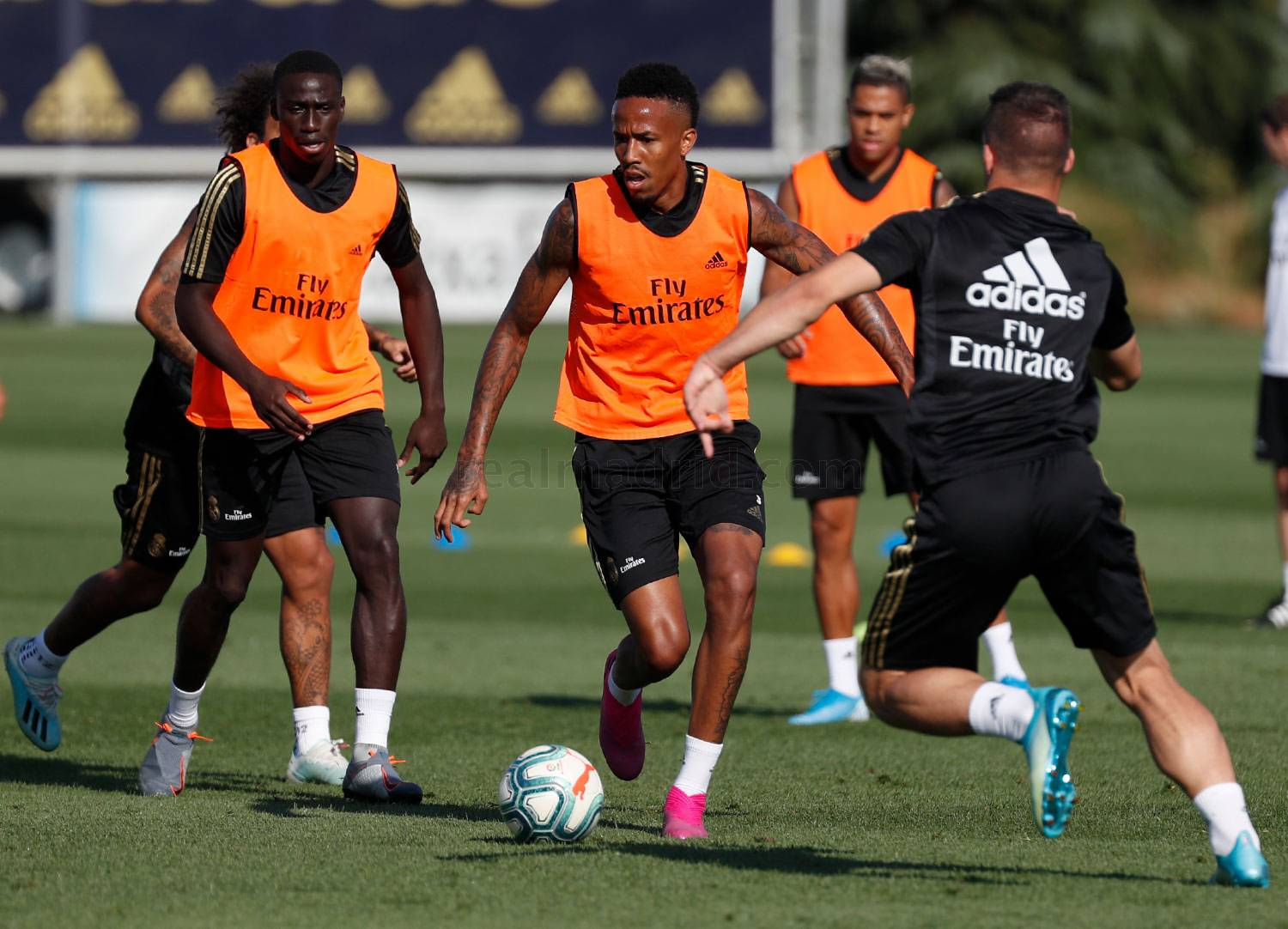 Real Madrid - Entrenamiento del Real Madrid  - 31-08-2019