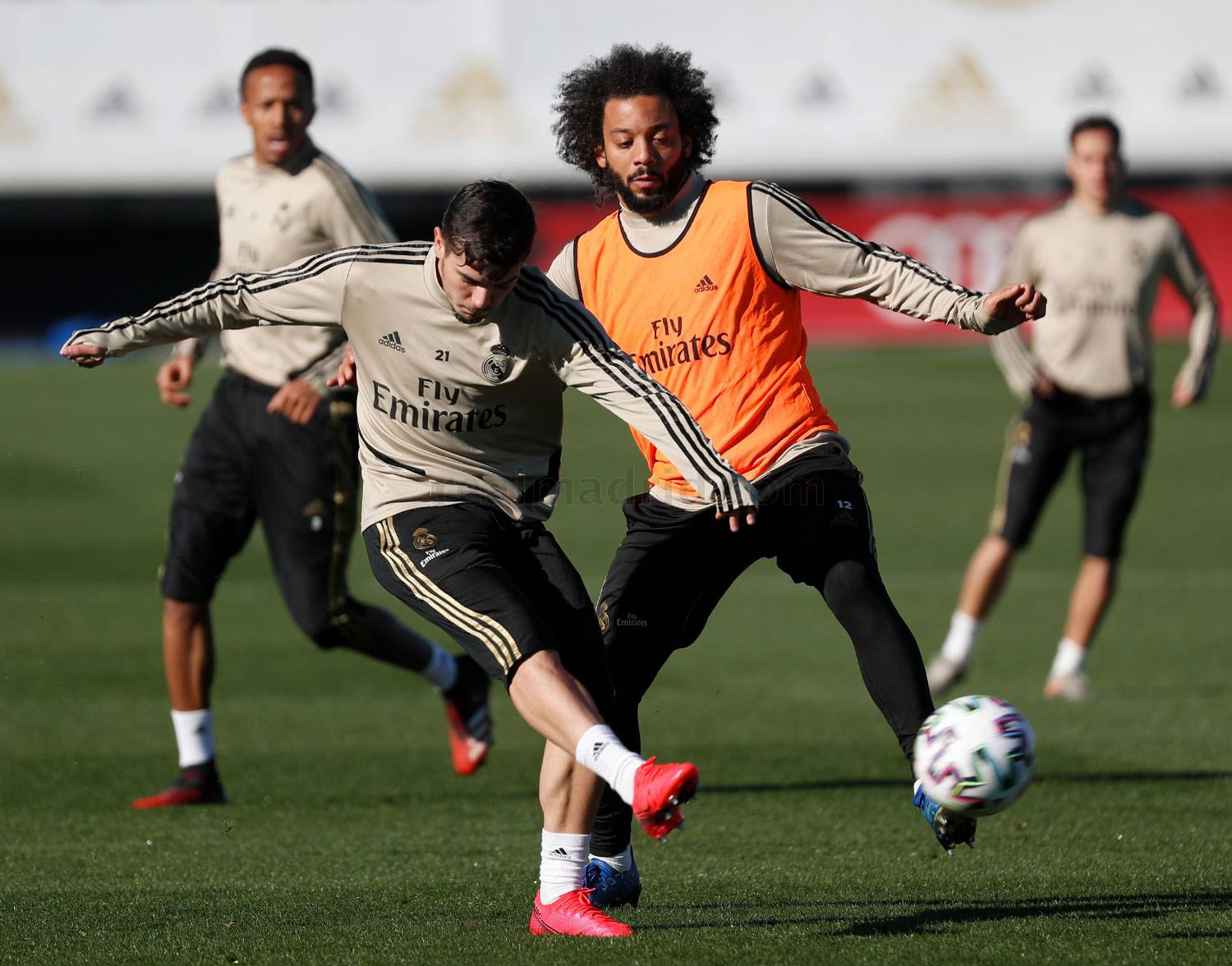 Real Madrid - Entrenamiento del Real Madrid  - 05-02-2020