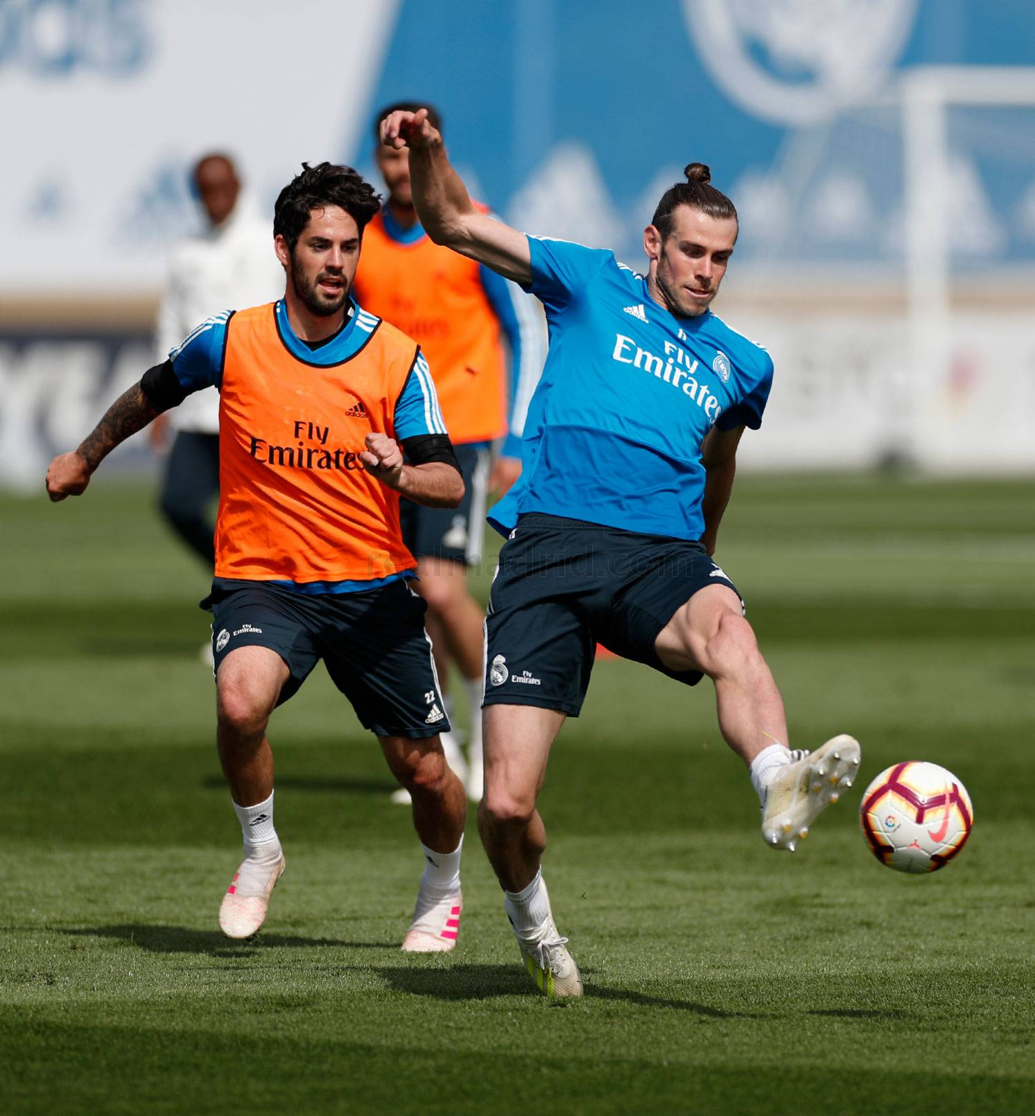 Real Madrid - Entrenamiento del Real Madrid - 22-04-2019