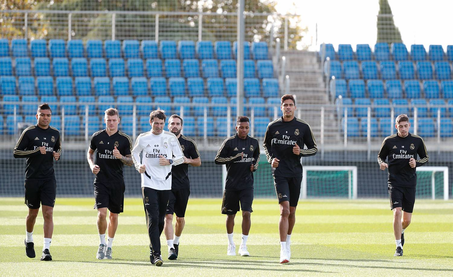 Real Madrid - Entrenamiento del Real Madrid  - 31-10-2019