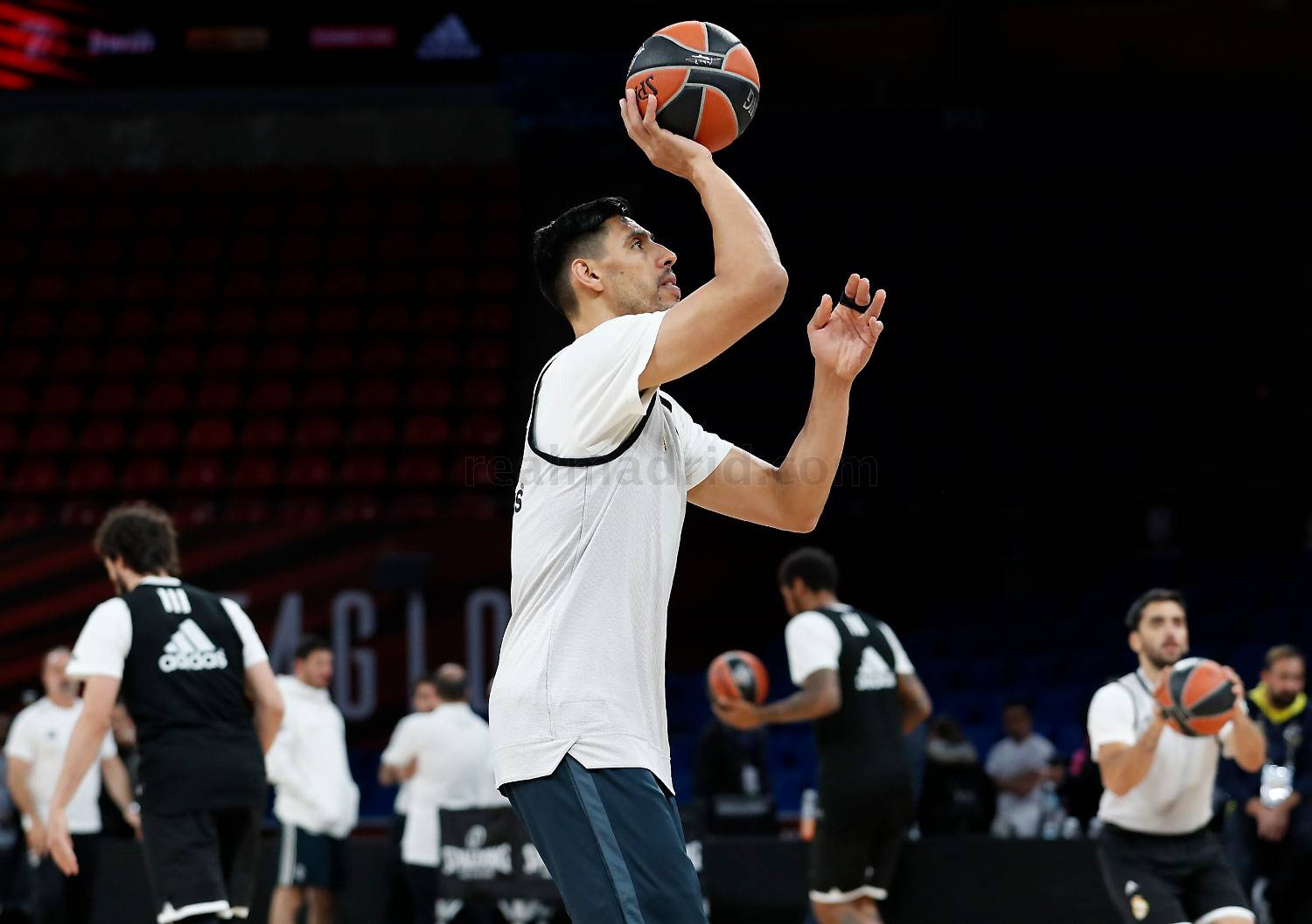 Real Madrid - Entrenamiento del Real Madrid de baloncesto en Vitoria - 18-05-2019