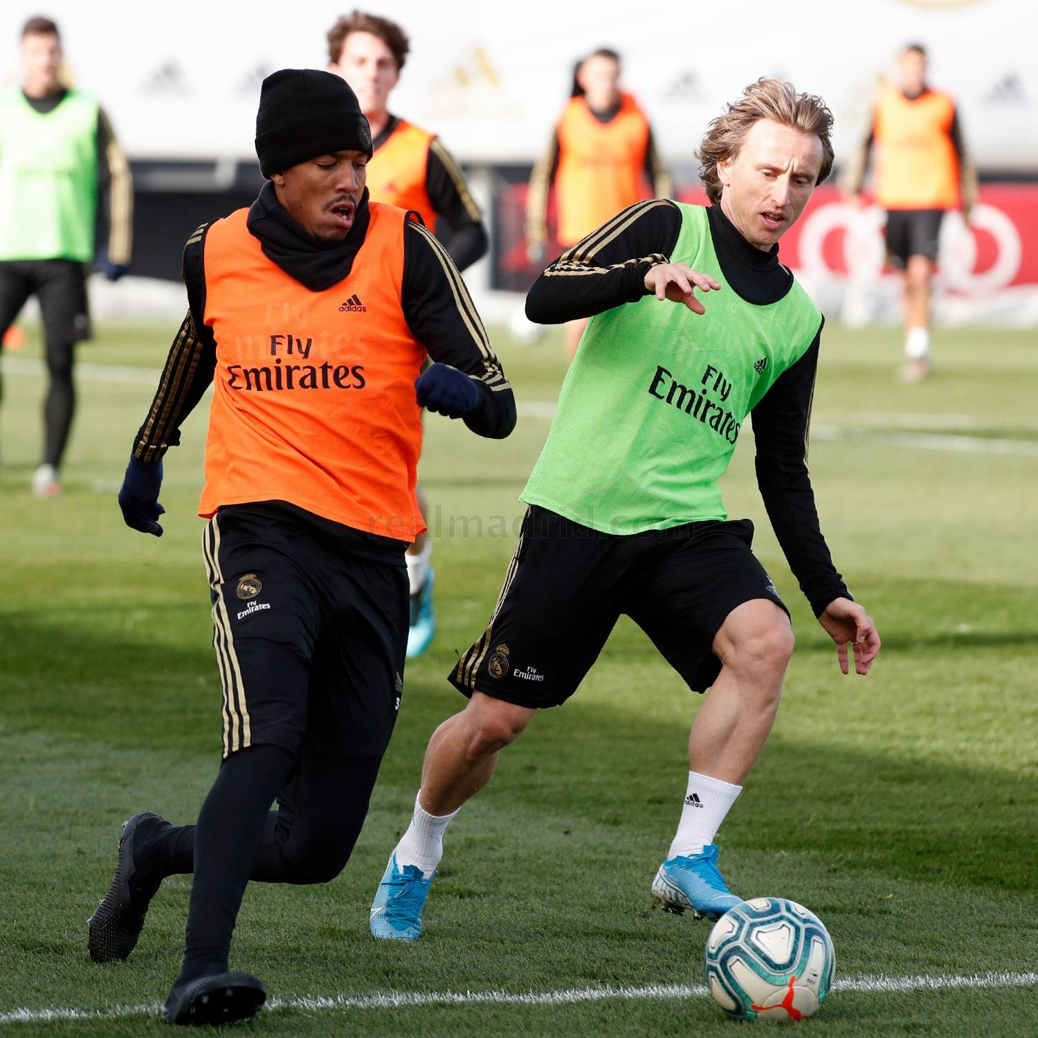 Real Madrid - Entrenamiento del Real Madrid  - 27-11-2019