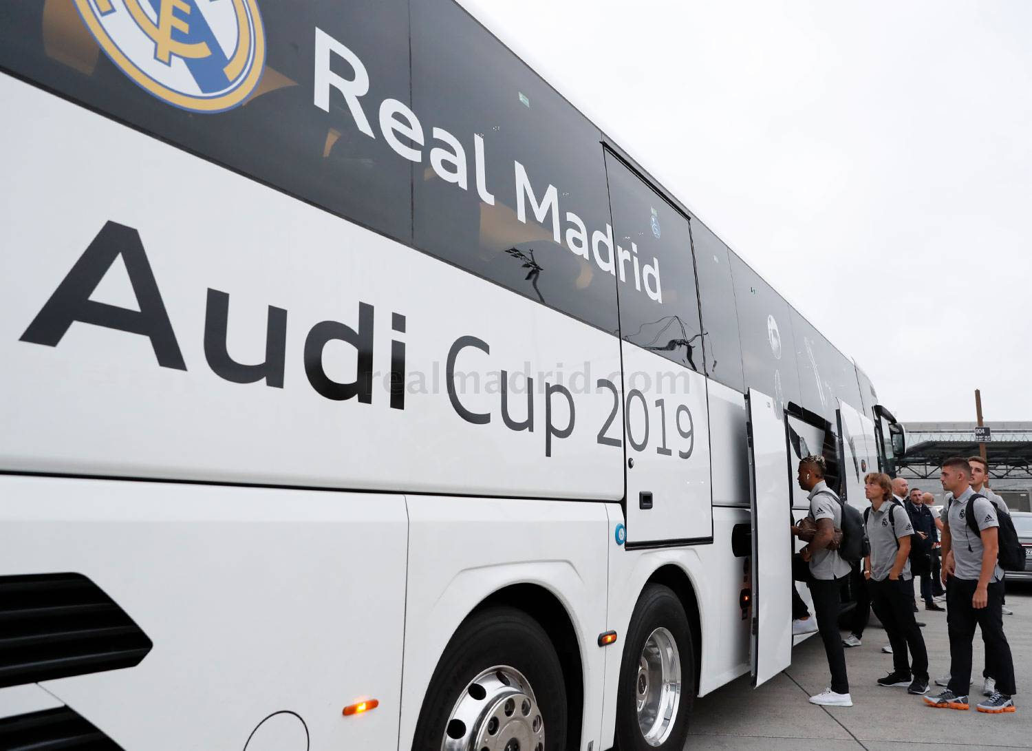 Real Madrid - Llegada del Real Madrid a Múnich - 29-07-2019