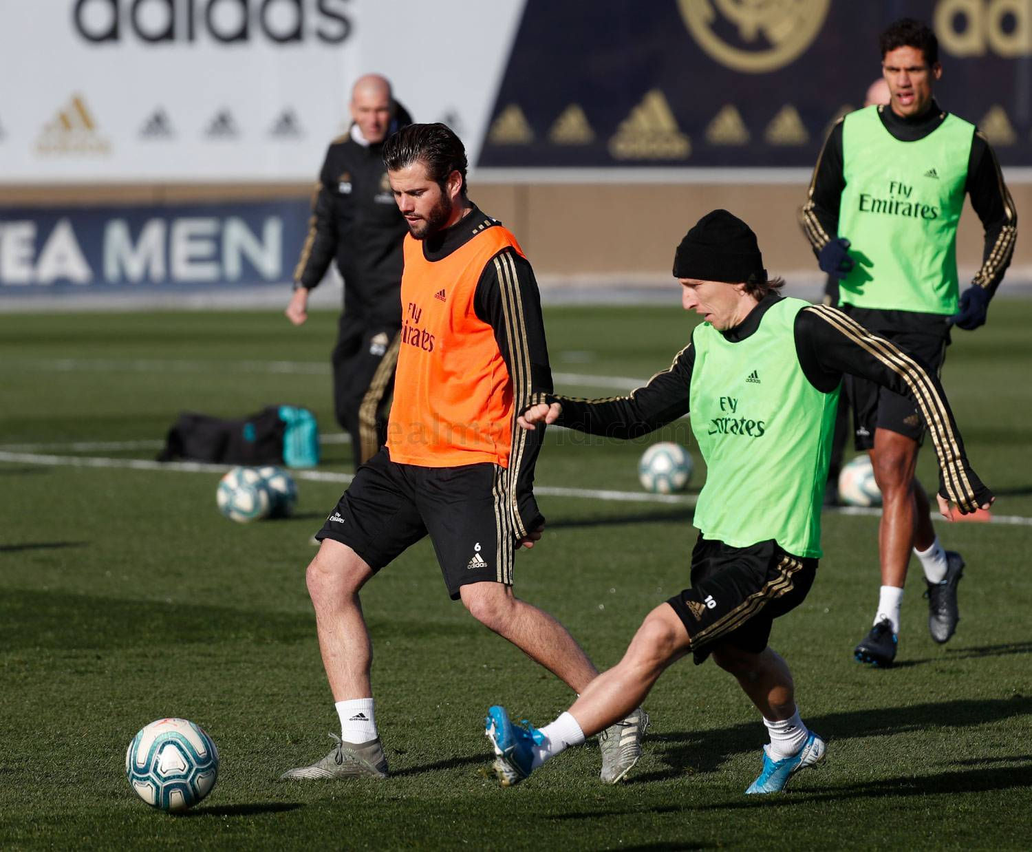 Real Madrid - Entrenamiento del Real Madrid  - 05-12-2019