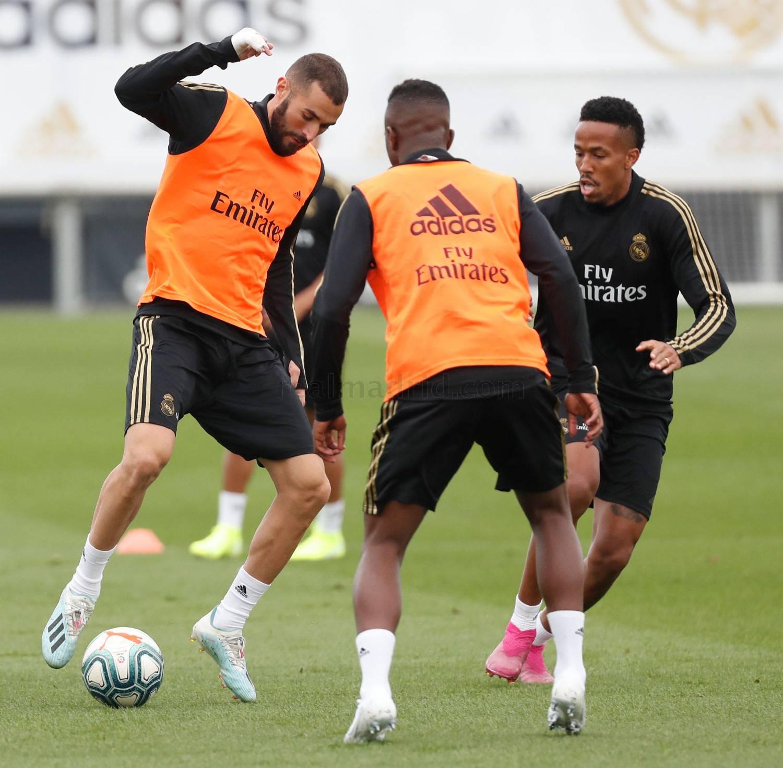 Real Madrid- Entrenamiento del Real Madrid