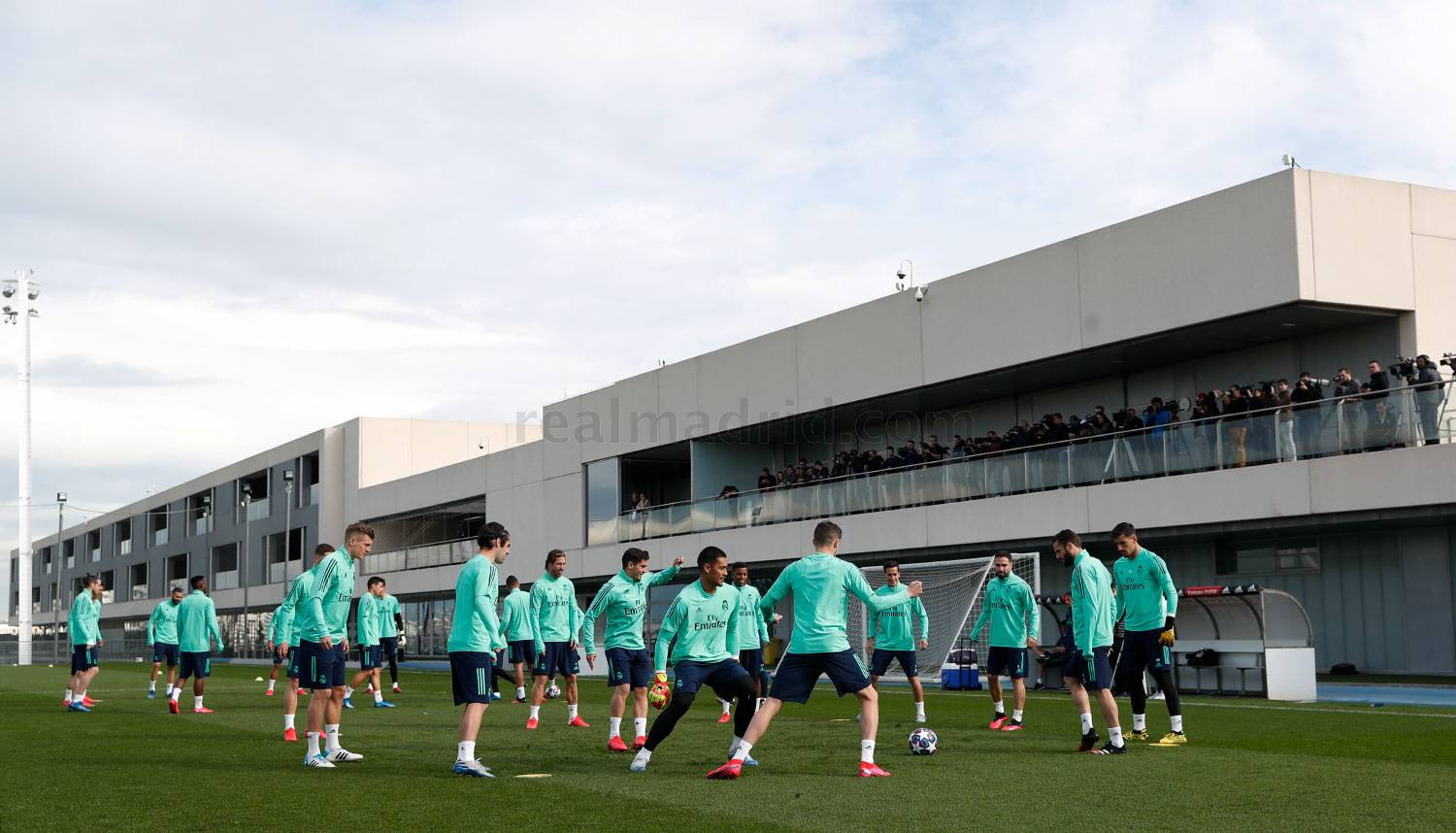 Real Madrid - Entrenamiento del Real Madrid  - 25-02-2020
