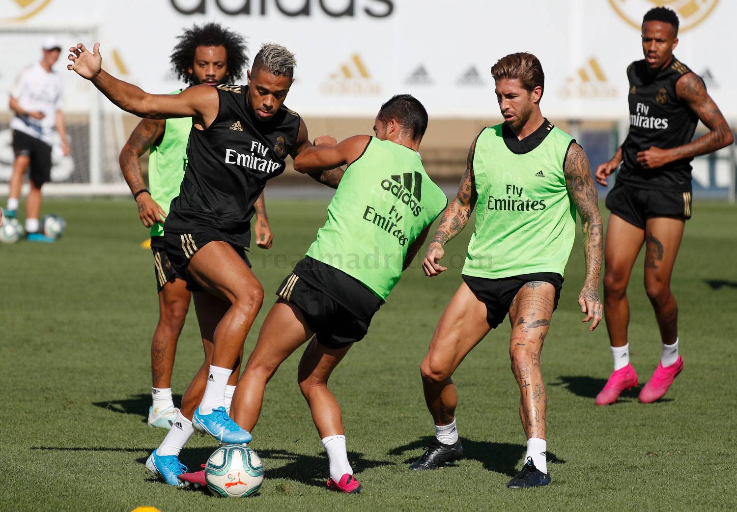 Real Madrid - Entrenamiento del Real Madrid  - 06-08-2019
