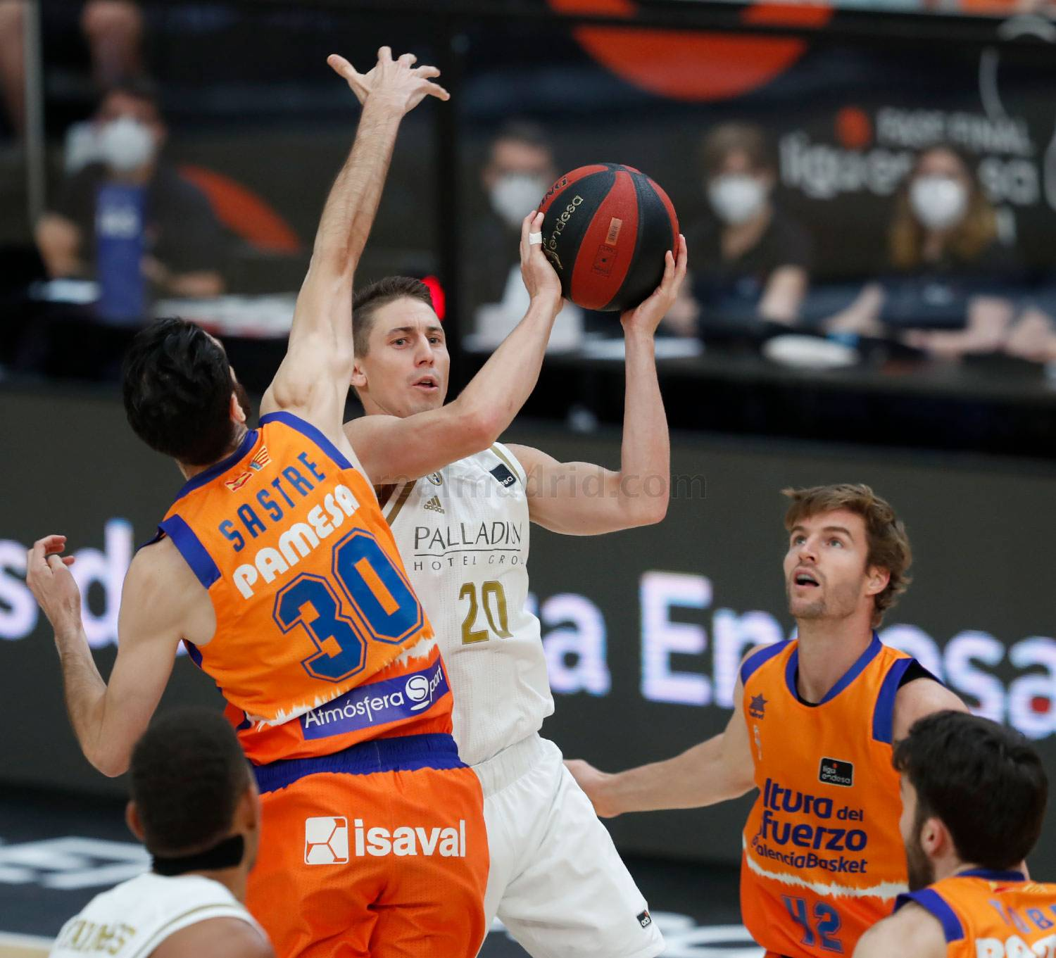 Real Madrid - Real Madrid - Valencia Basket - 22-06-2020