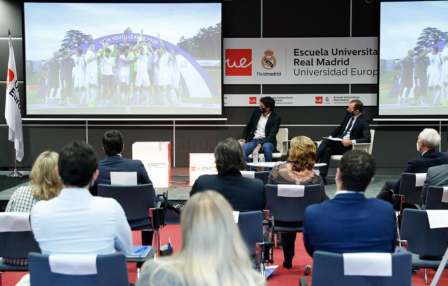 Real Madrid - Inaugurado el curso 2020-21 de la Escuela Universitaria Real Madrid Universidad Europea - 17-11-2020