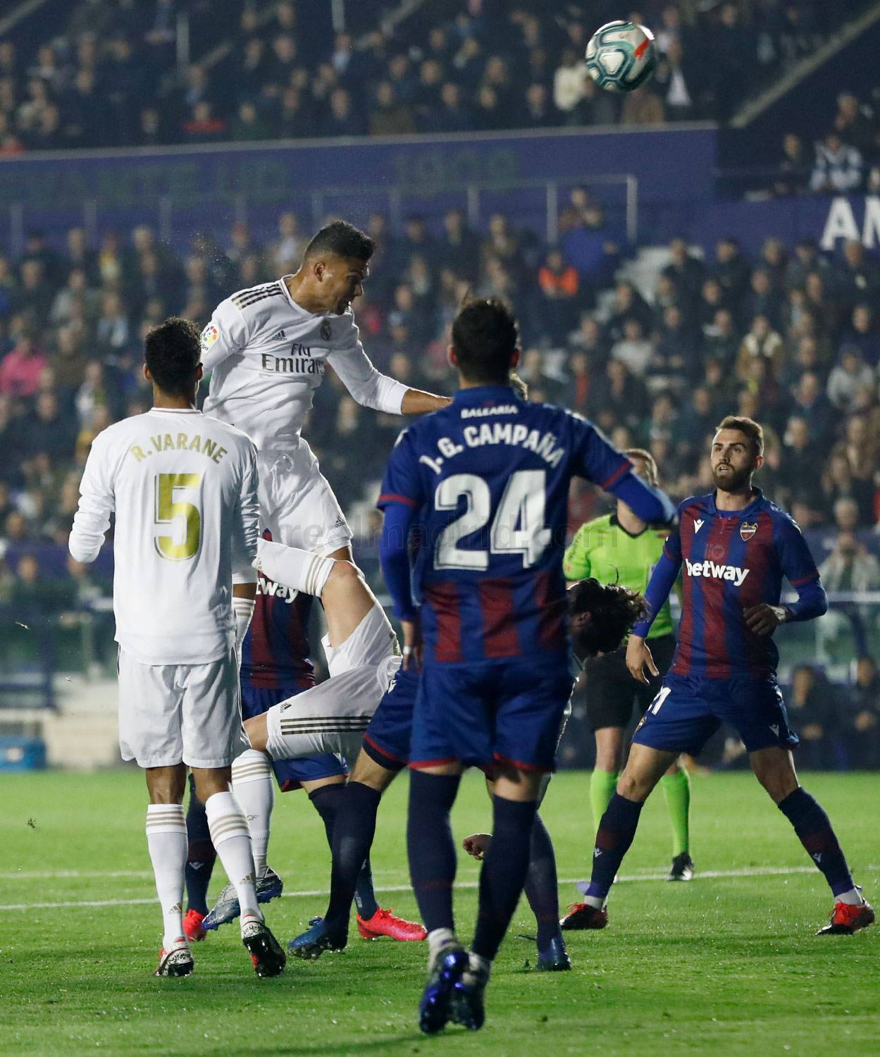 Real Madrid - Levante - Real Madrid - 22-02-2020