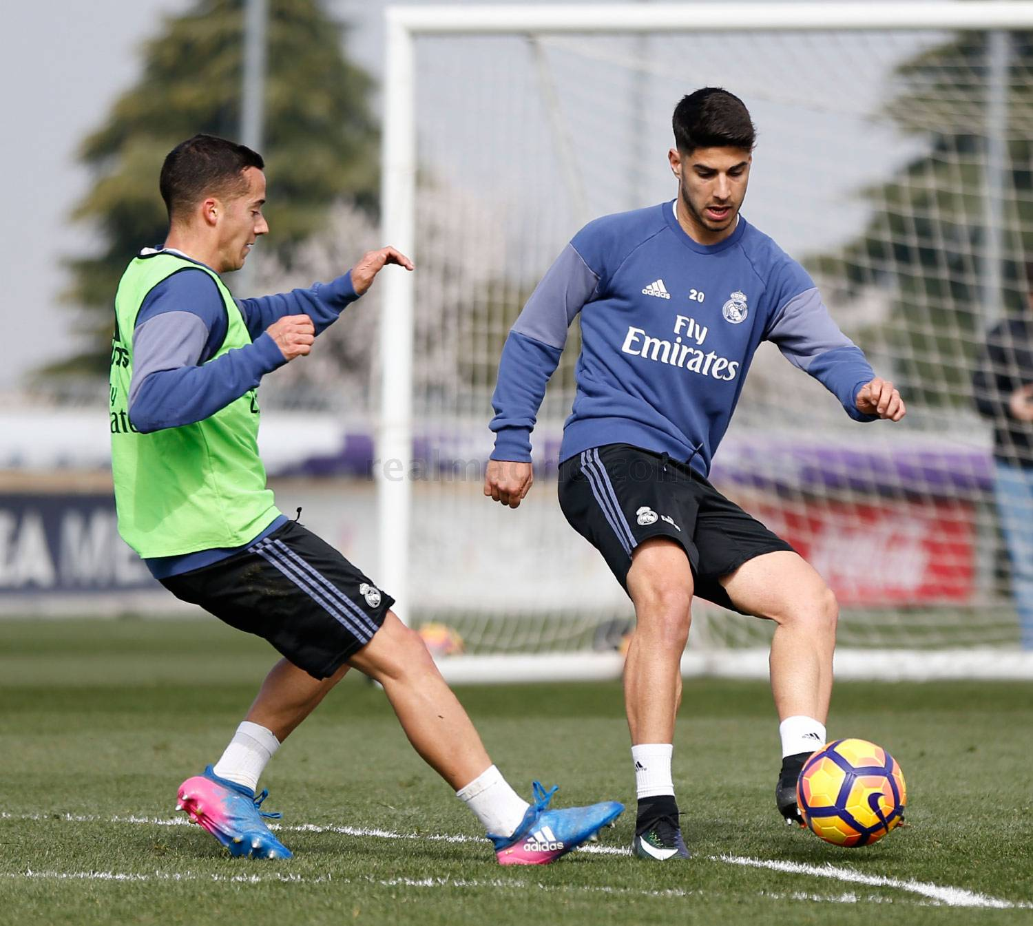 Real Madrid - Entrenamiento del Real Madrid - 02-03-2017