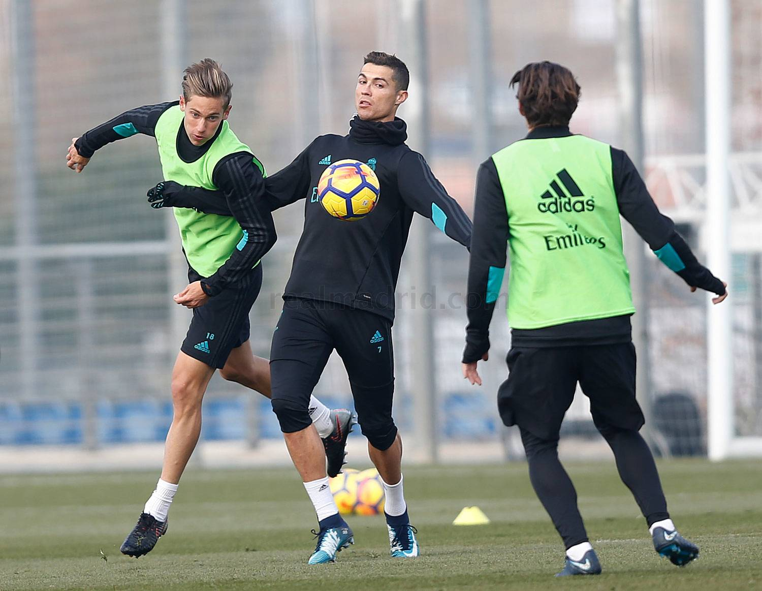 Real Madrid - Entrenamiento del Real Madrid - 08-12-2017
