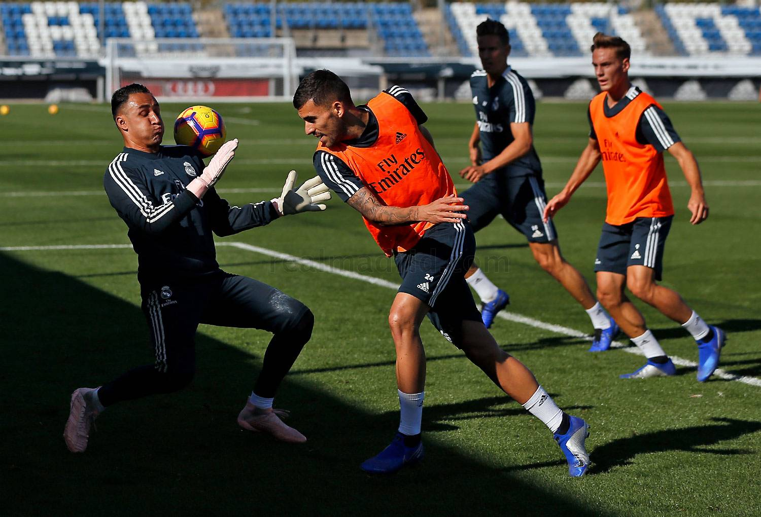 Real Madrid - Entrenamiento del Real Madrid - 25-10-2018