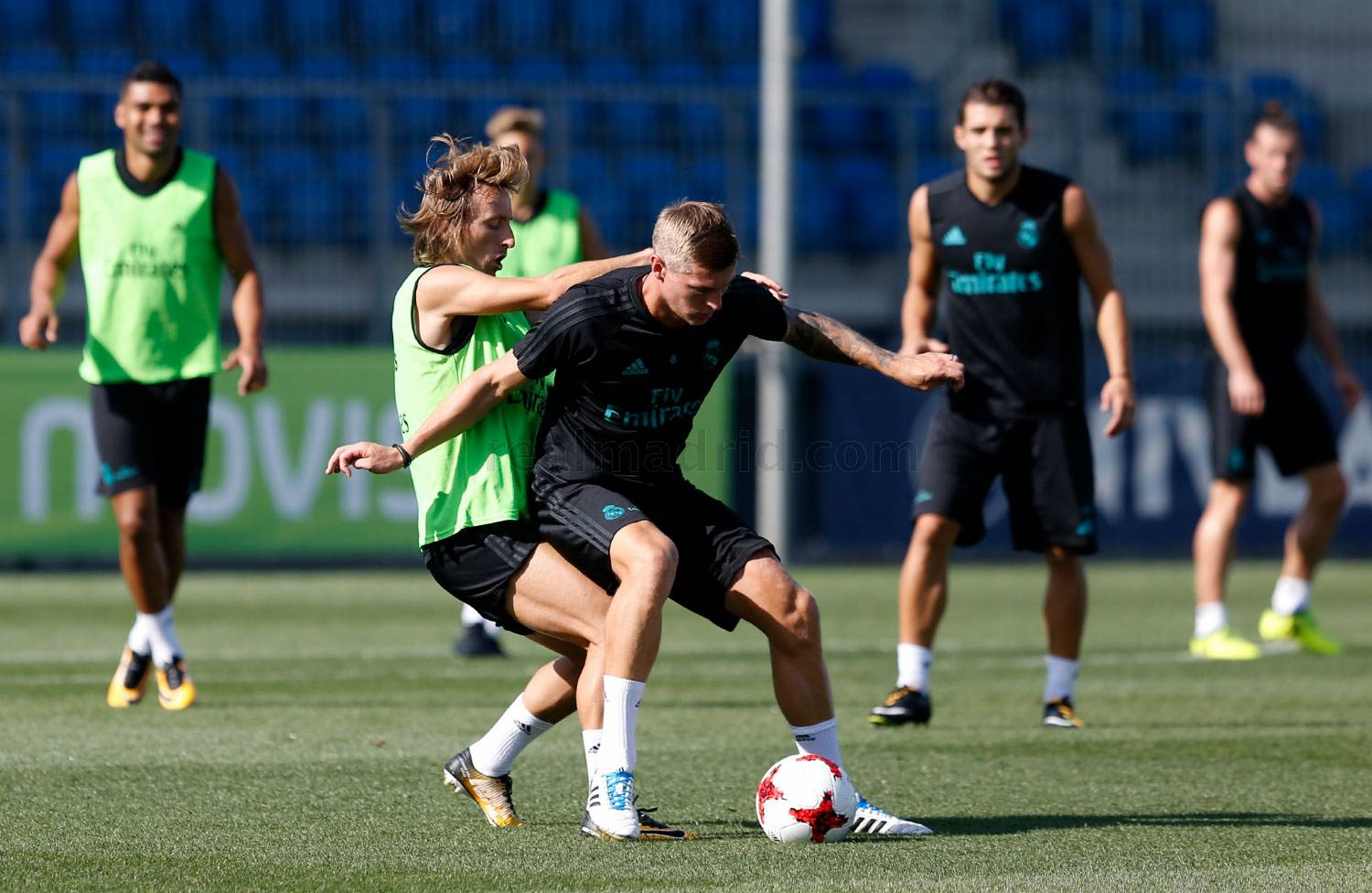 Real Madrid - Entrenamiento del Real Madrid - 15-08-2017