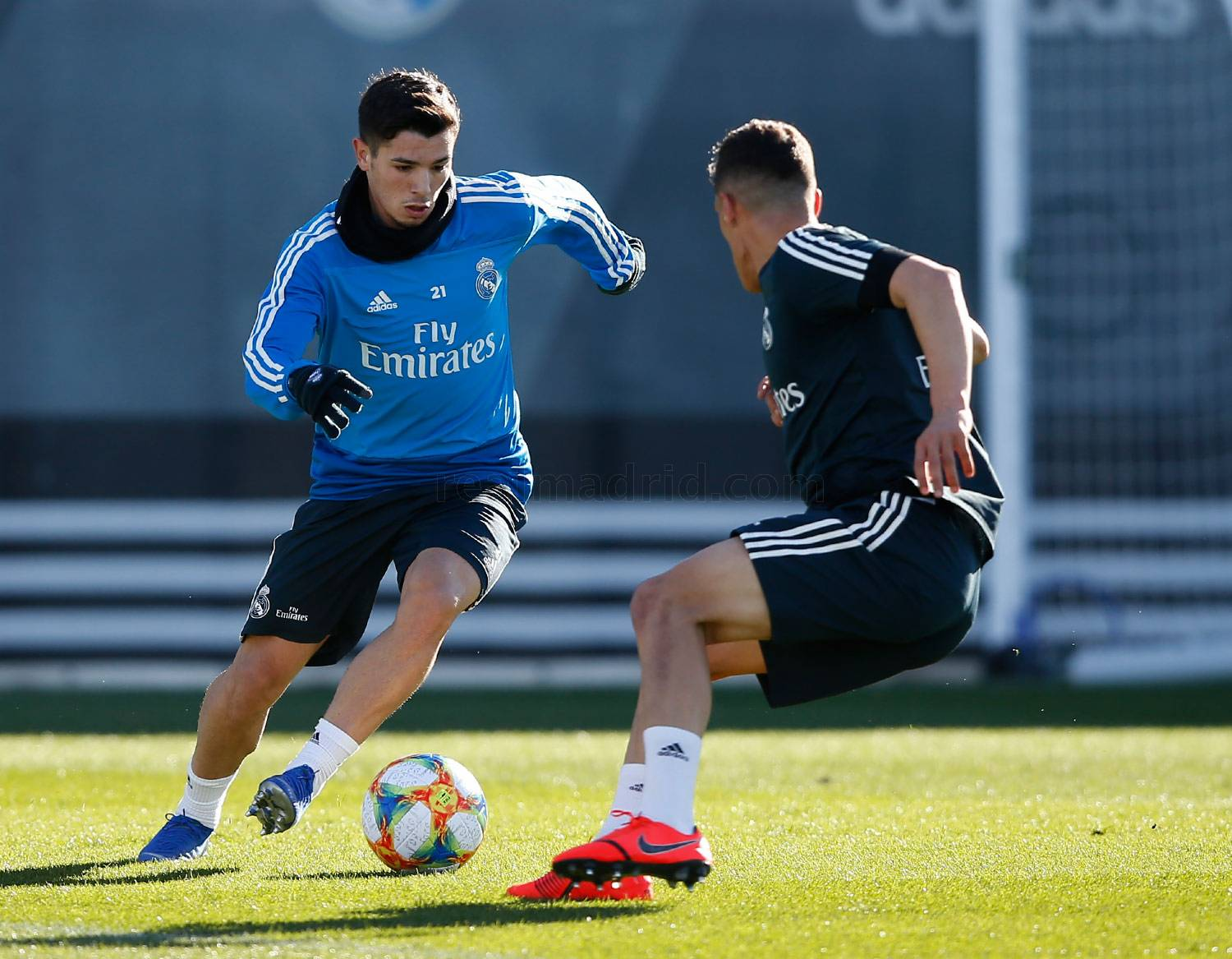 Real Madrid - Entrenamiento del Real Madrid - 28-01-2019