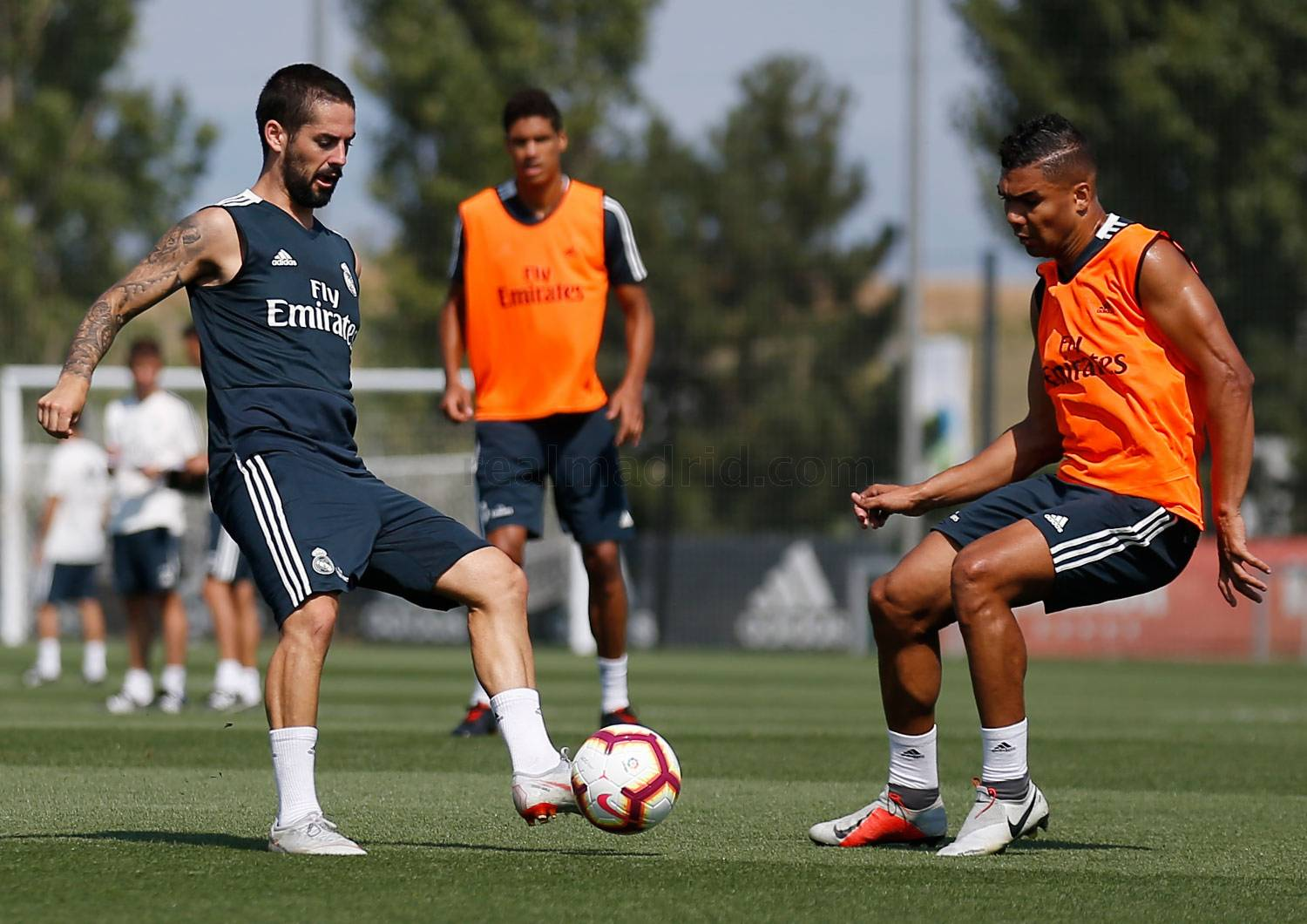 Real Madrid - Entrenamiento del Real Madrid - 18-08-2018