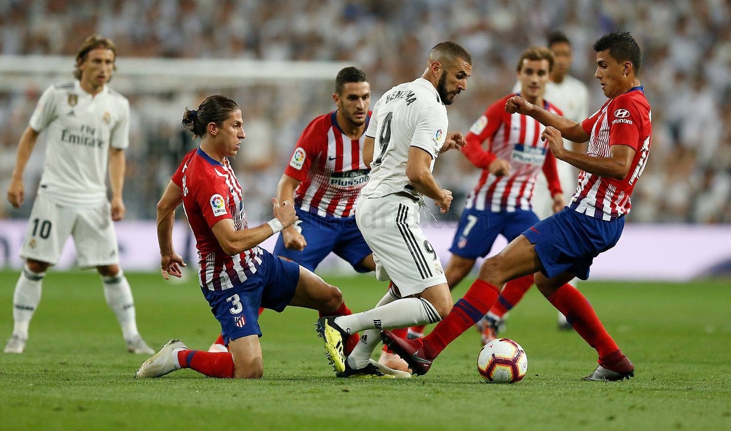 Real Madrid - Real Madrid - Atlético de Madrid - 29-09-2018