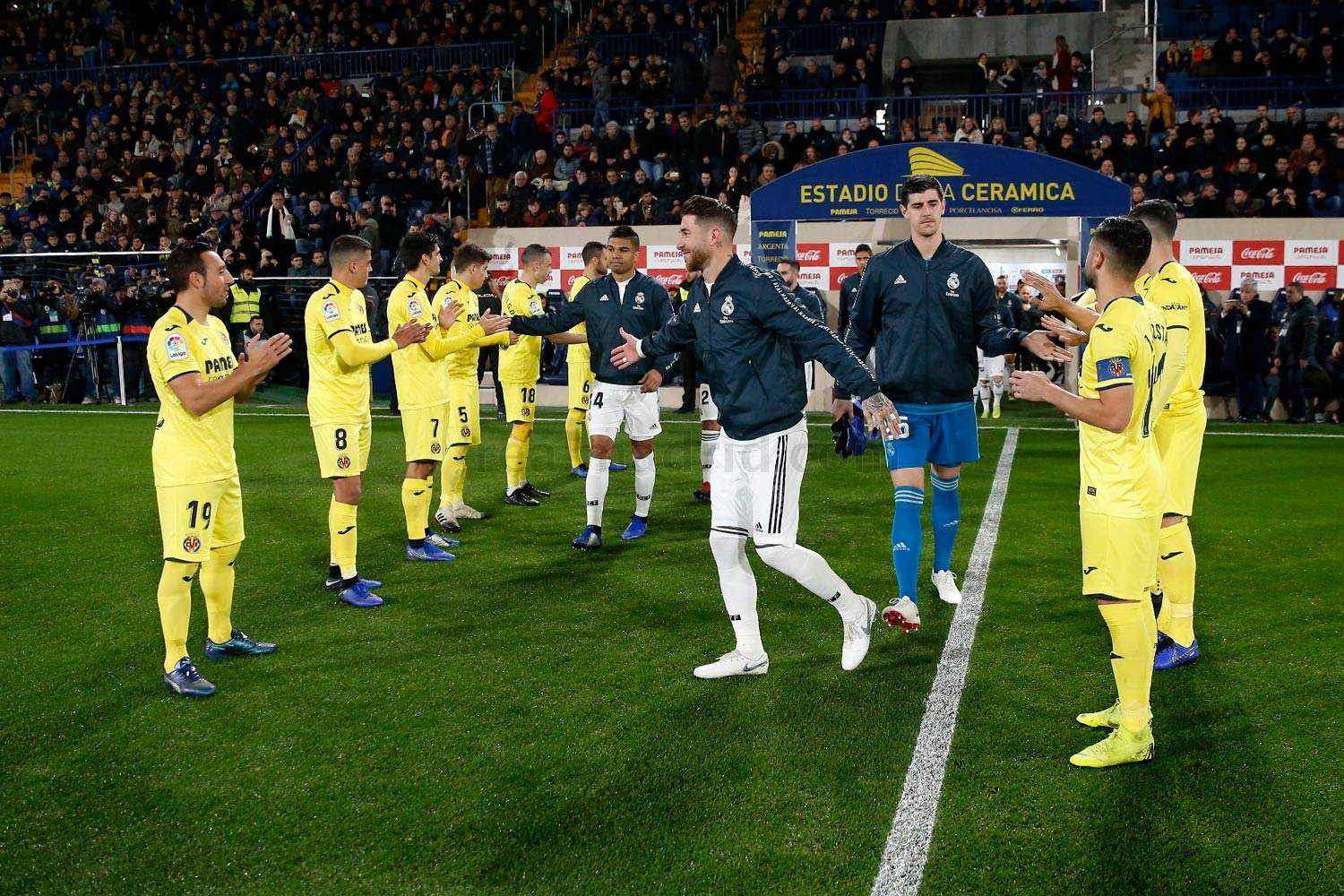 Real Madrid - Villarreal - Real Madrid - 03-01-2019