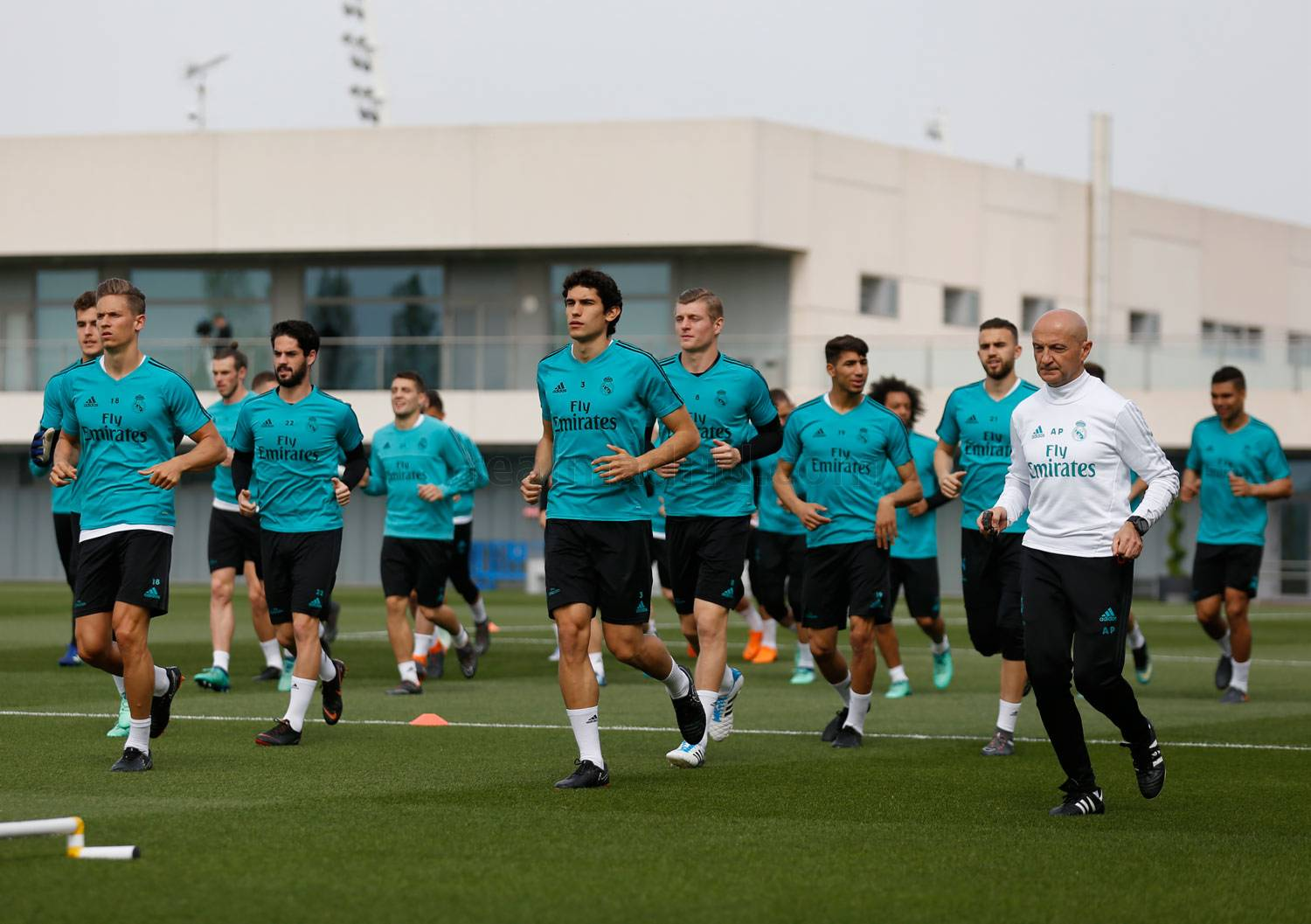 Real Madrid - Entrenamiento del Real Madrid - 21-04-2018