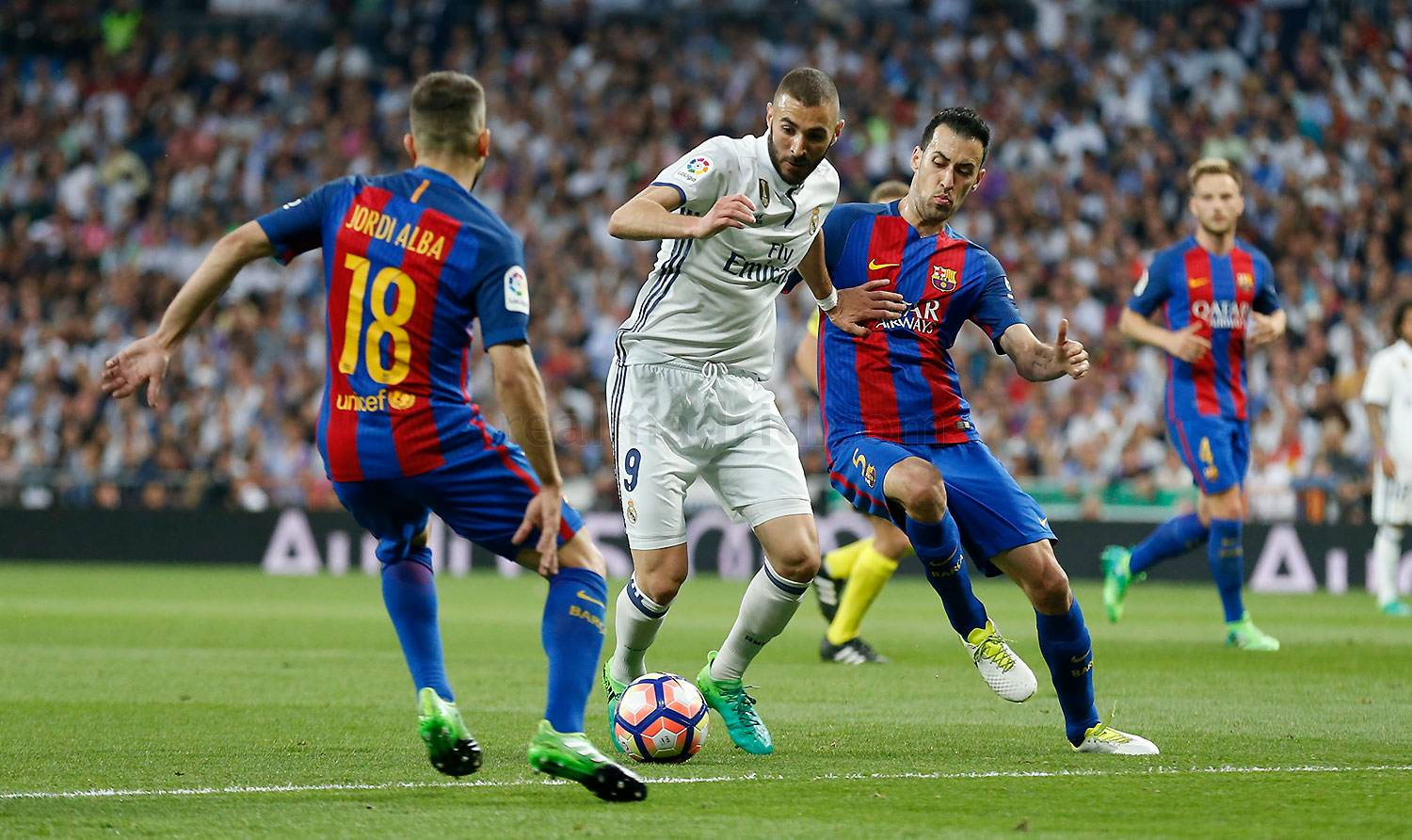 Real Madrid - Real Madrid - Barcelona - 23-04-2017