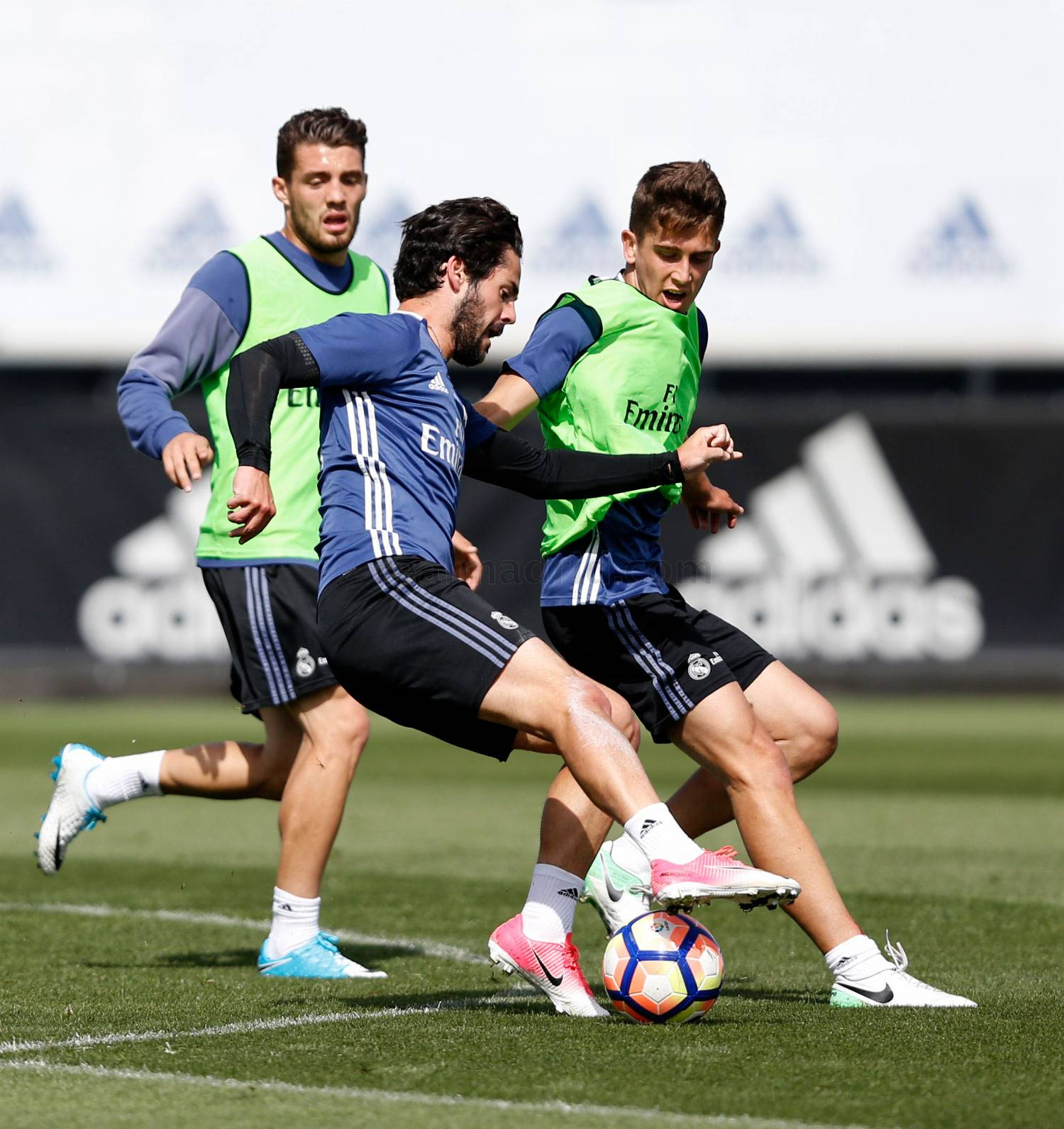 Real Madrid - Entrenamiento del Real Madrid - 24-04-2017
