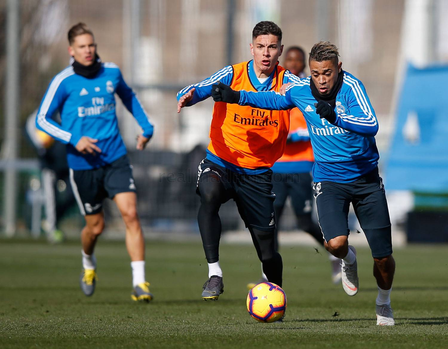 Real Madrid - Entrenamiento del Real Madrid - 02-02-2019