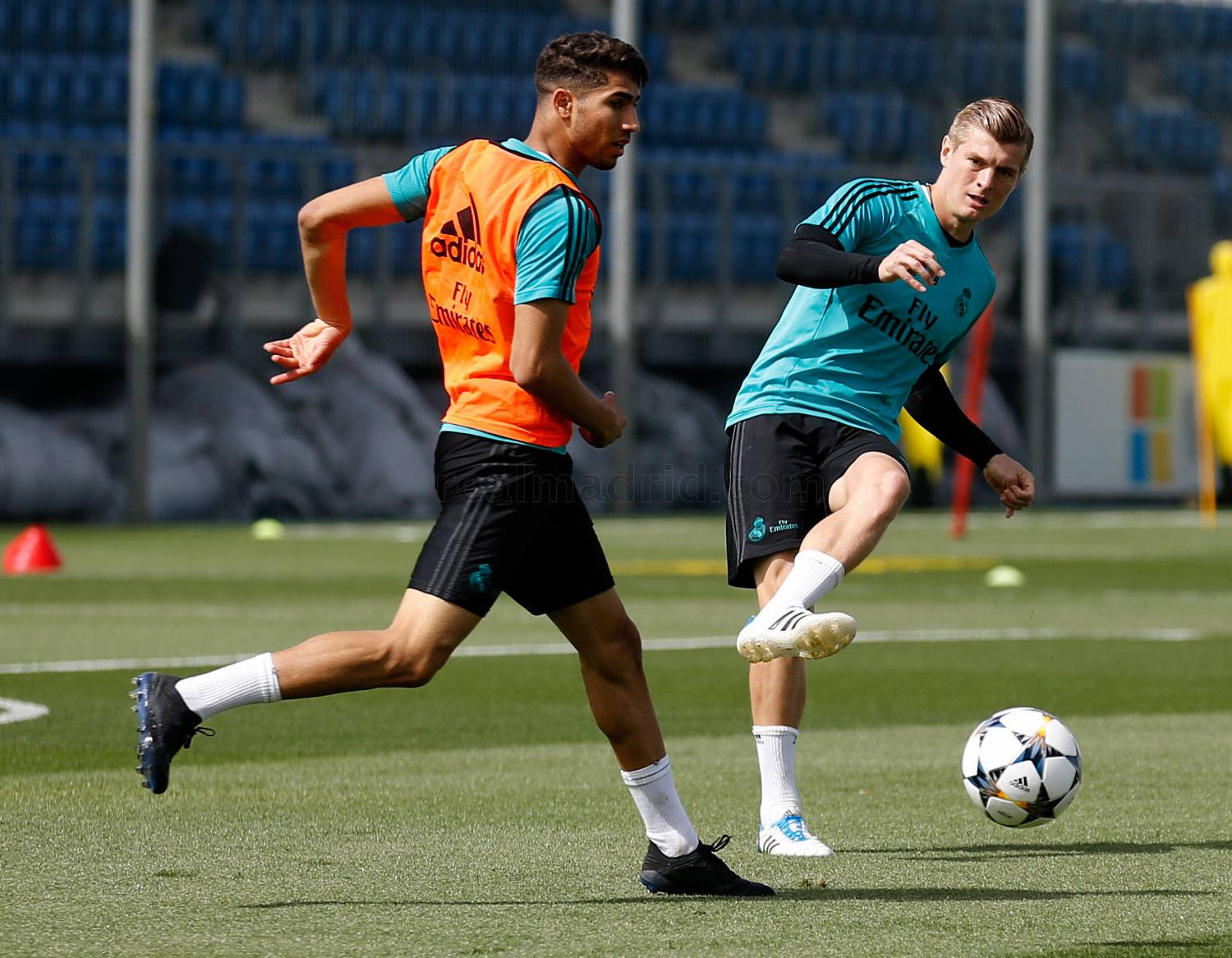 Real Madrid - Entrenamiento del Real Madrid - 22-04-2018