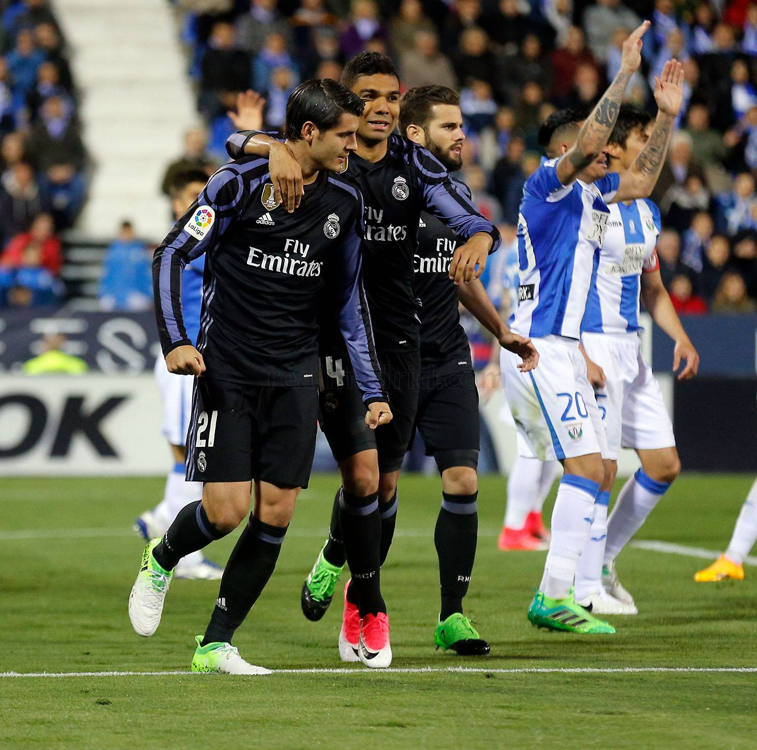 Real Madrid - Leganés - Real Madrid - 05-04-2017